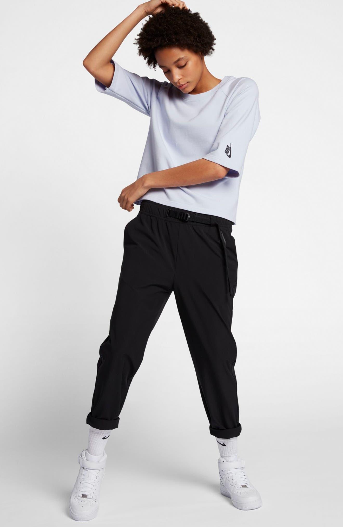 NikeLab Essential Fleece Top,                             Alternate thumbnail 14, color,