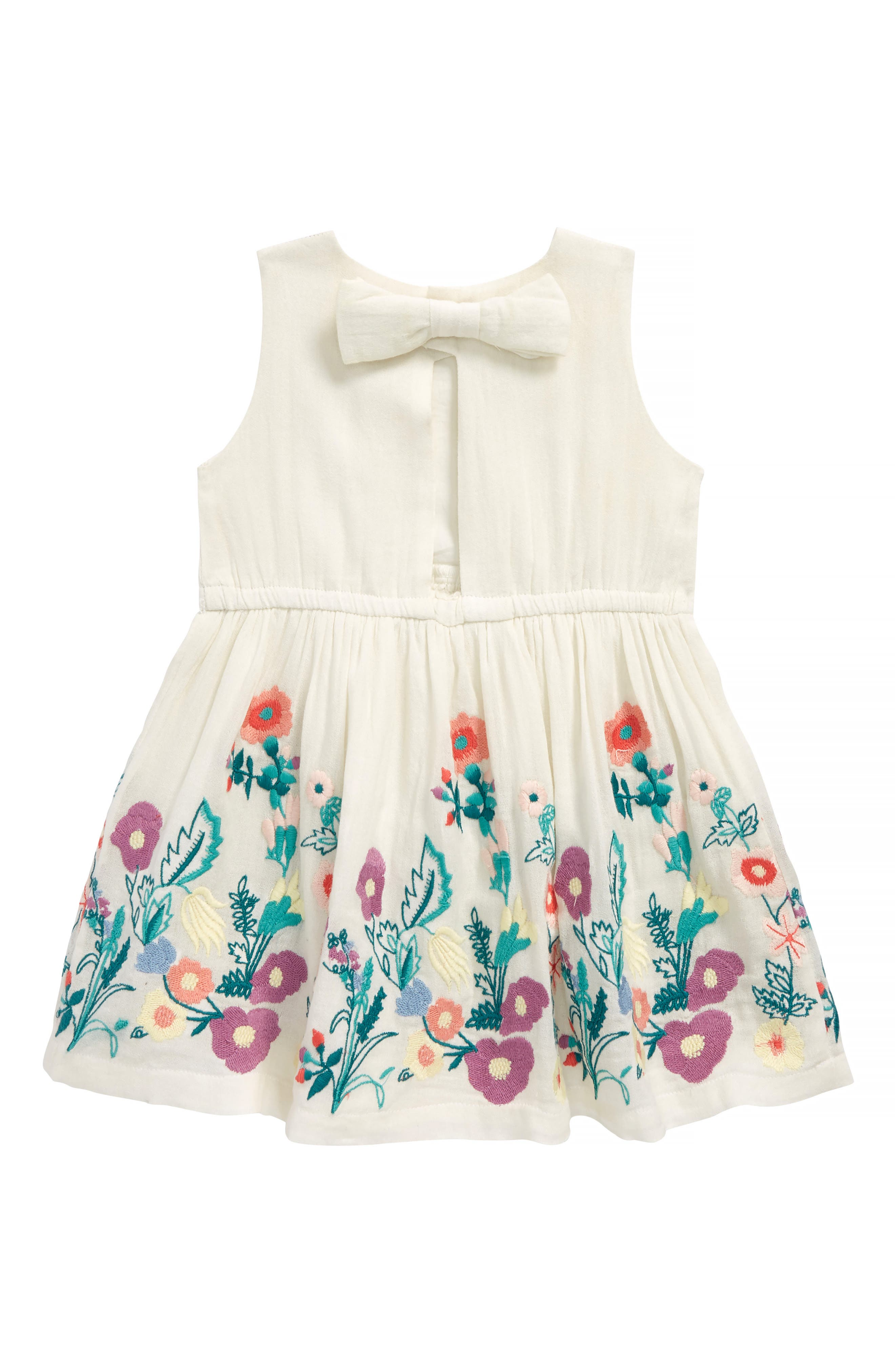 Isabelle Embroidered Dress,                             Alternate thumbnail 2, color,
