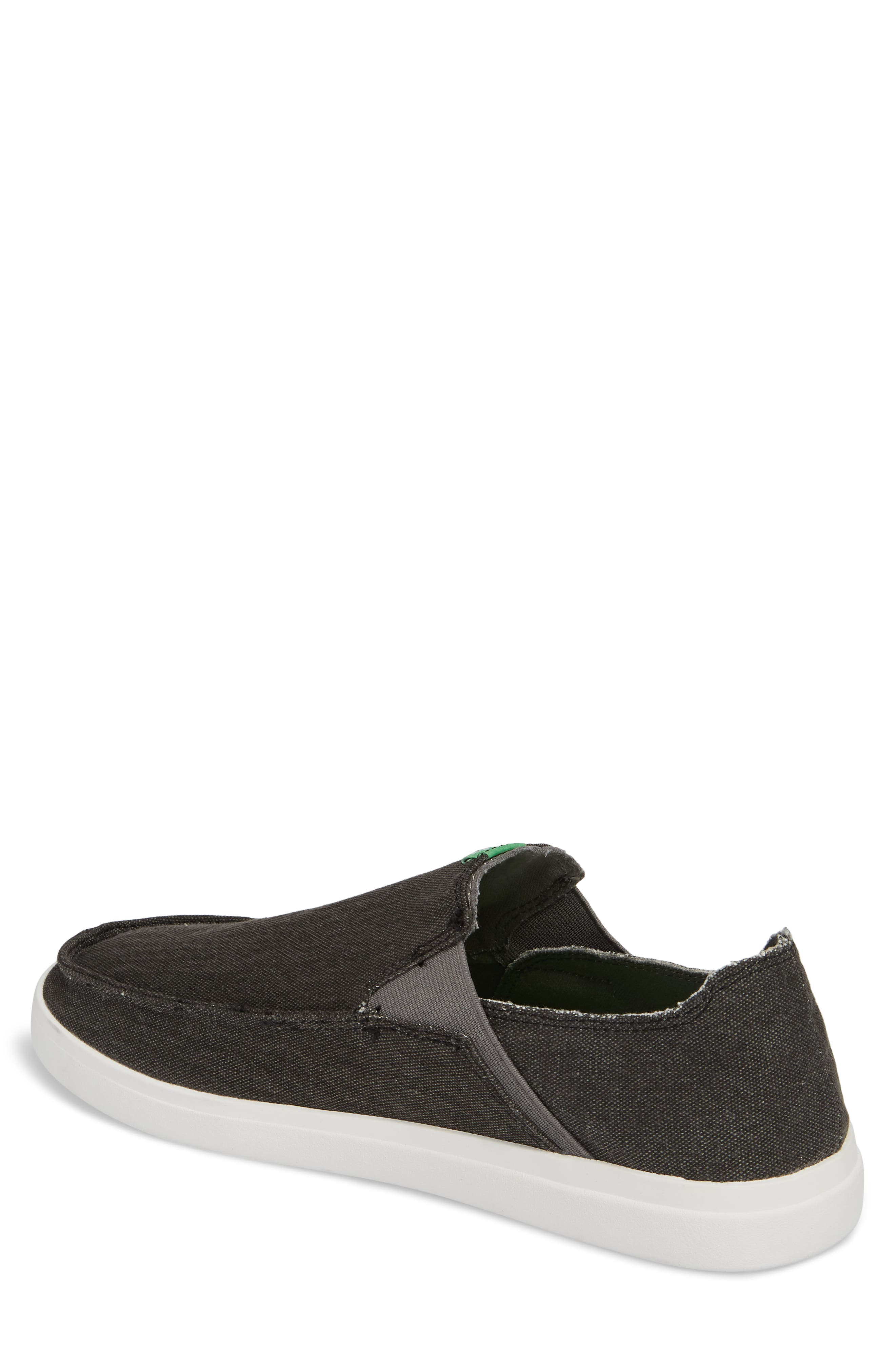 Pickpocket Slip-On Sneaker,                             Alternate thumbnail 2, color,                             BLACK