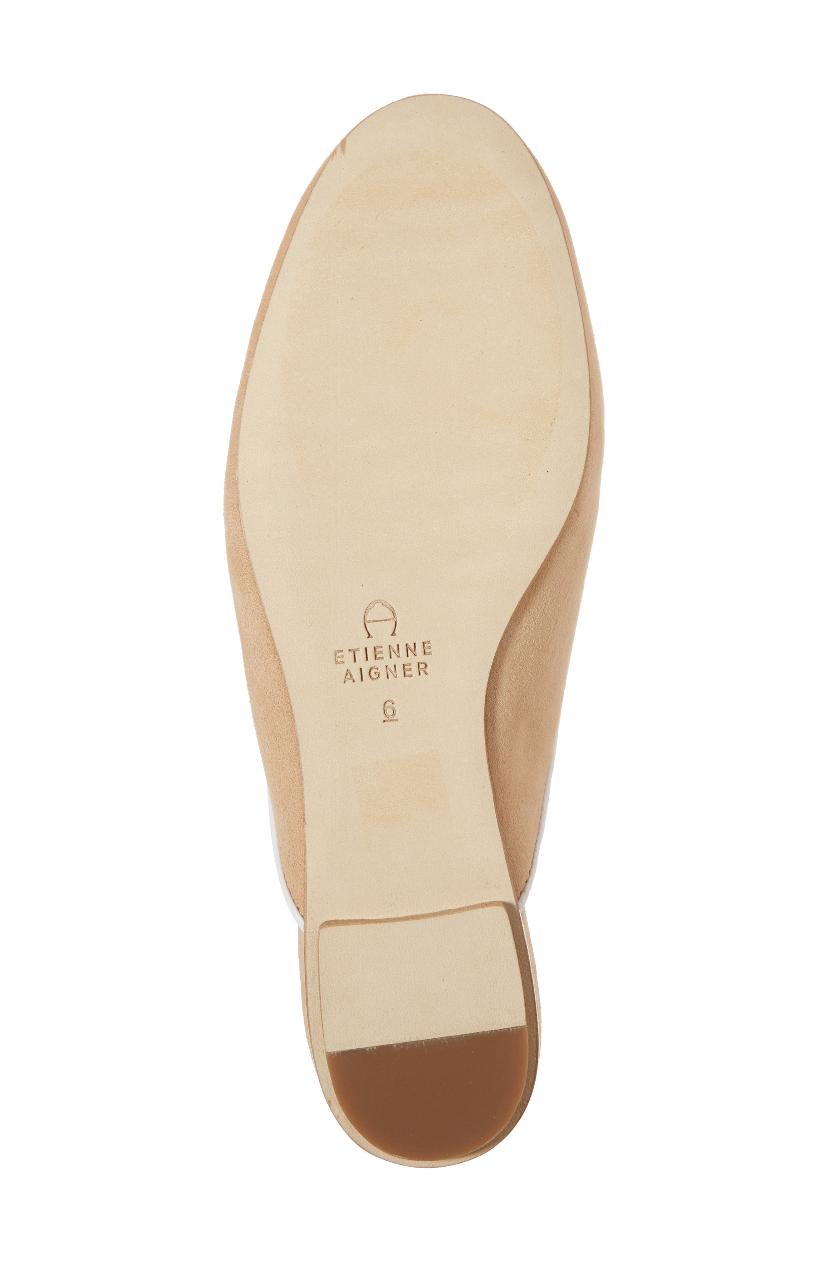 Caymen Mule,                             Alternate thumbnail 6, color,                             NATURAL/ FAWN/ WHITE