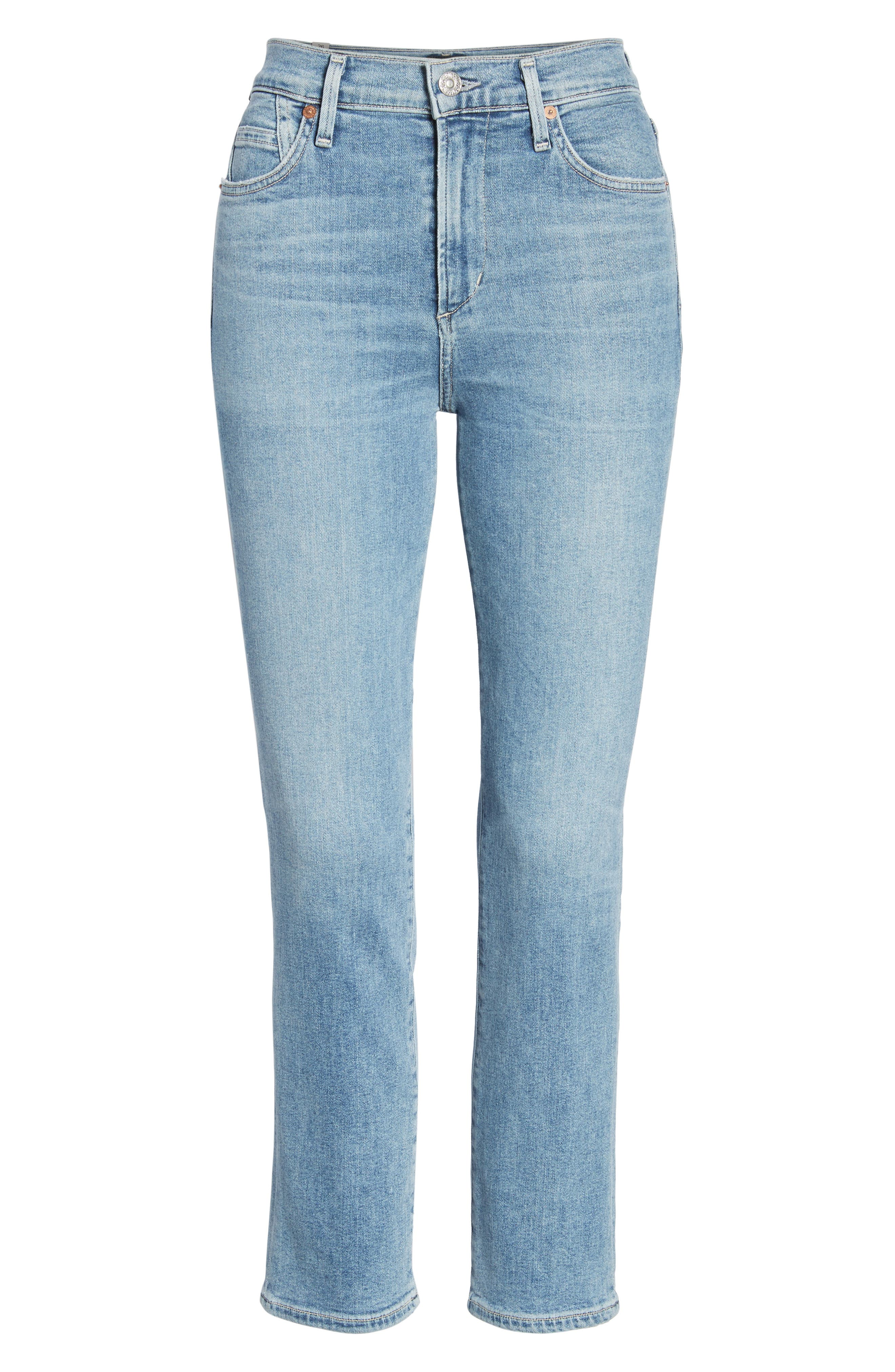 Cara Ankle Cigarette Jeans,                             Alternate thumbnail 7, color,                             457
