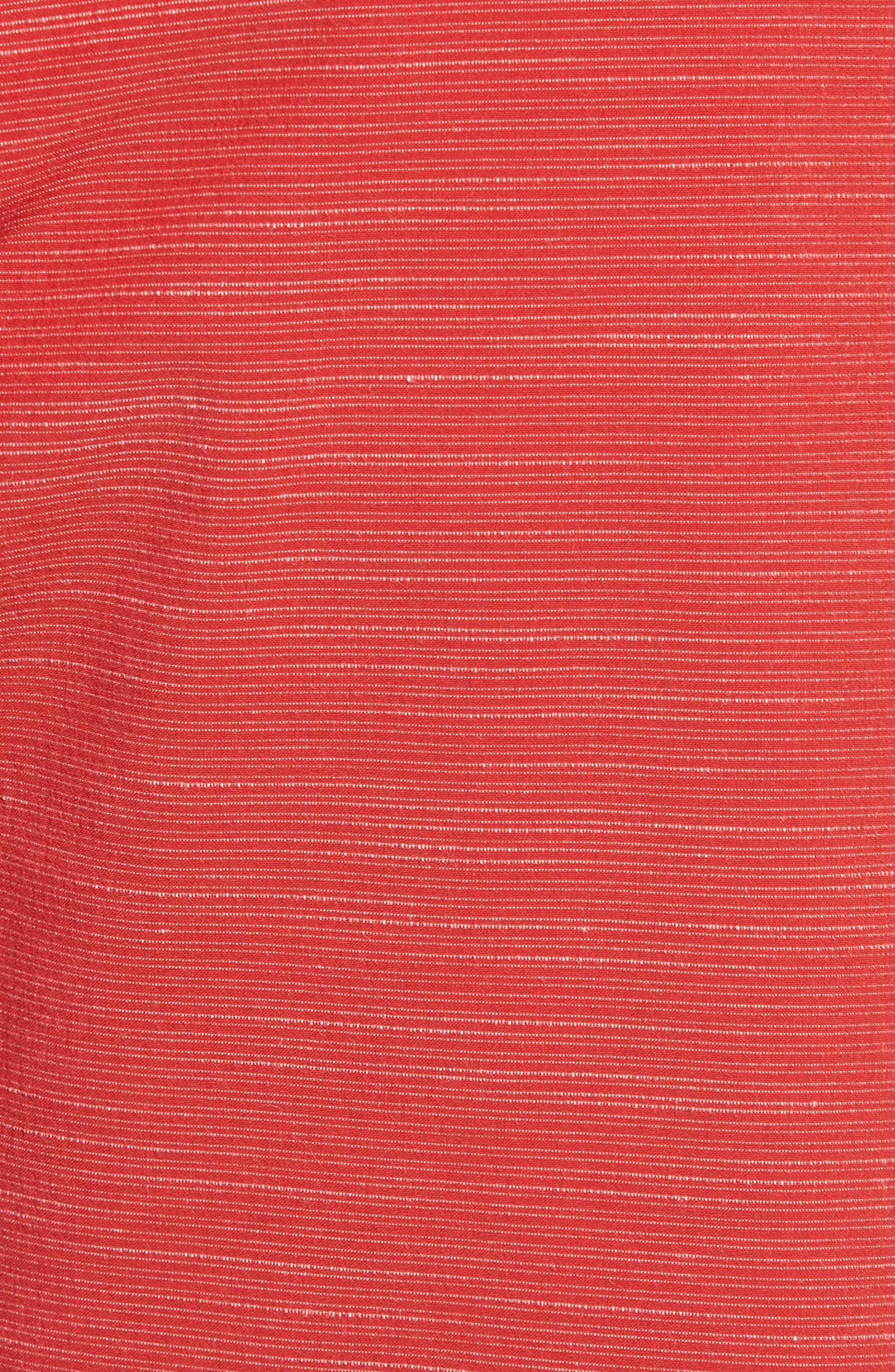 Lido Slub Modern Board Shorts,                             Alternate thumbnail 5, color,                             RED