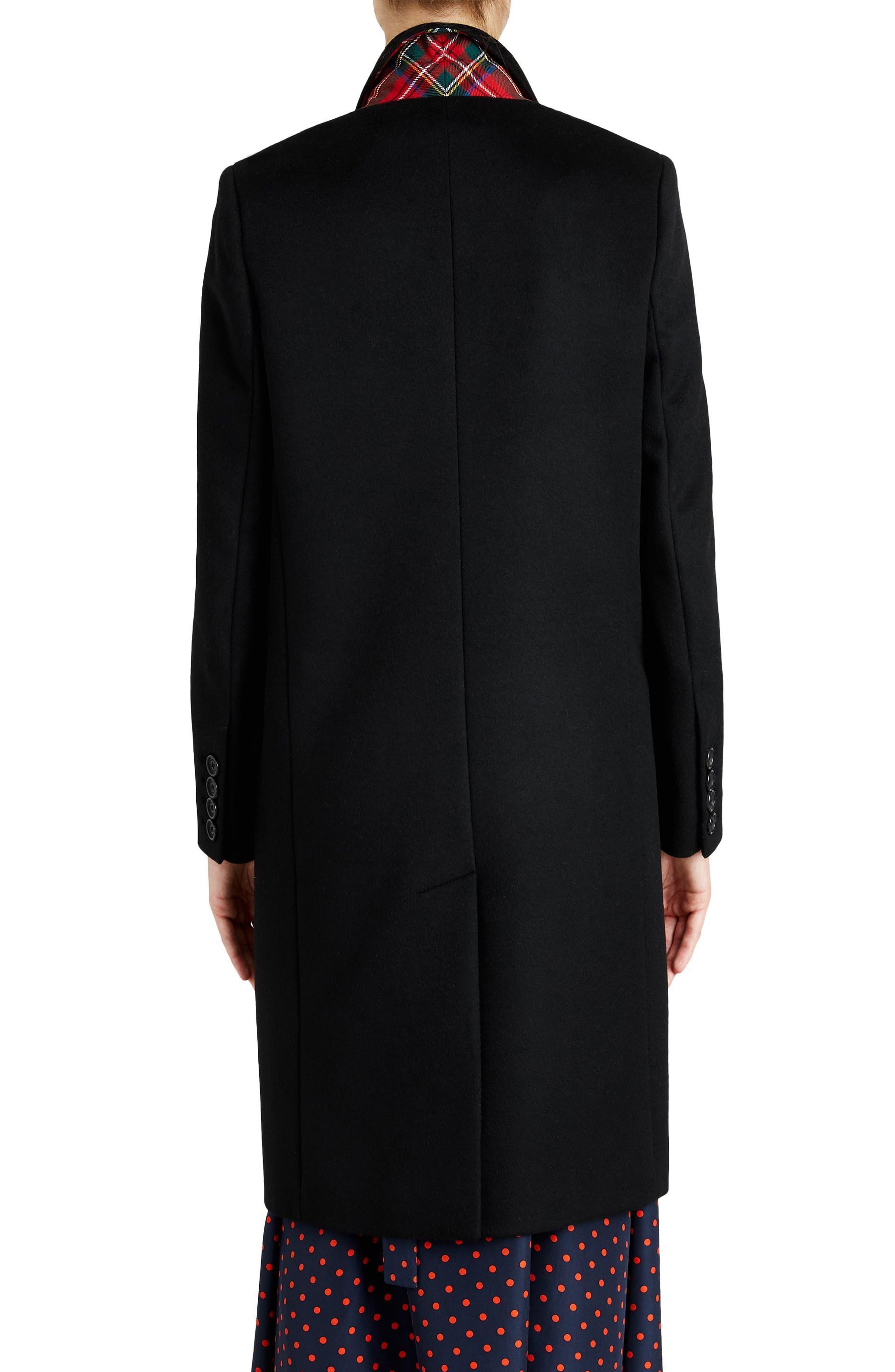 Fellhurst Wool & Cashmere Coat,                             Alternate thumbnail 2, color,                             001