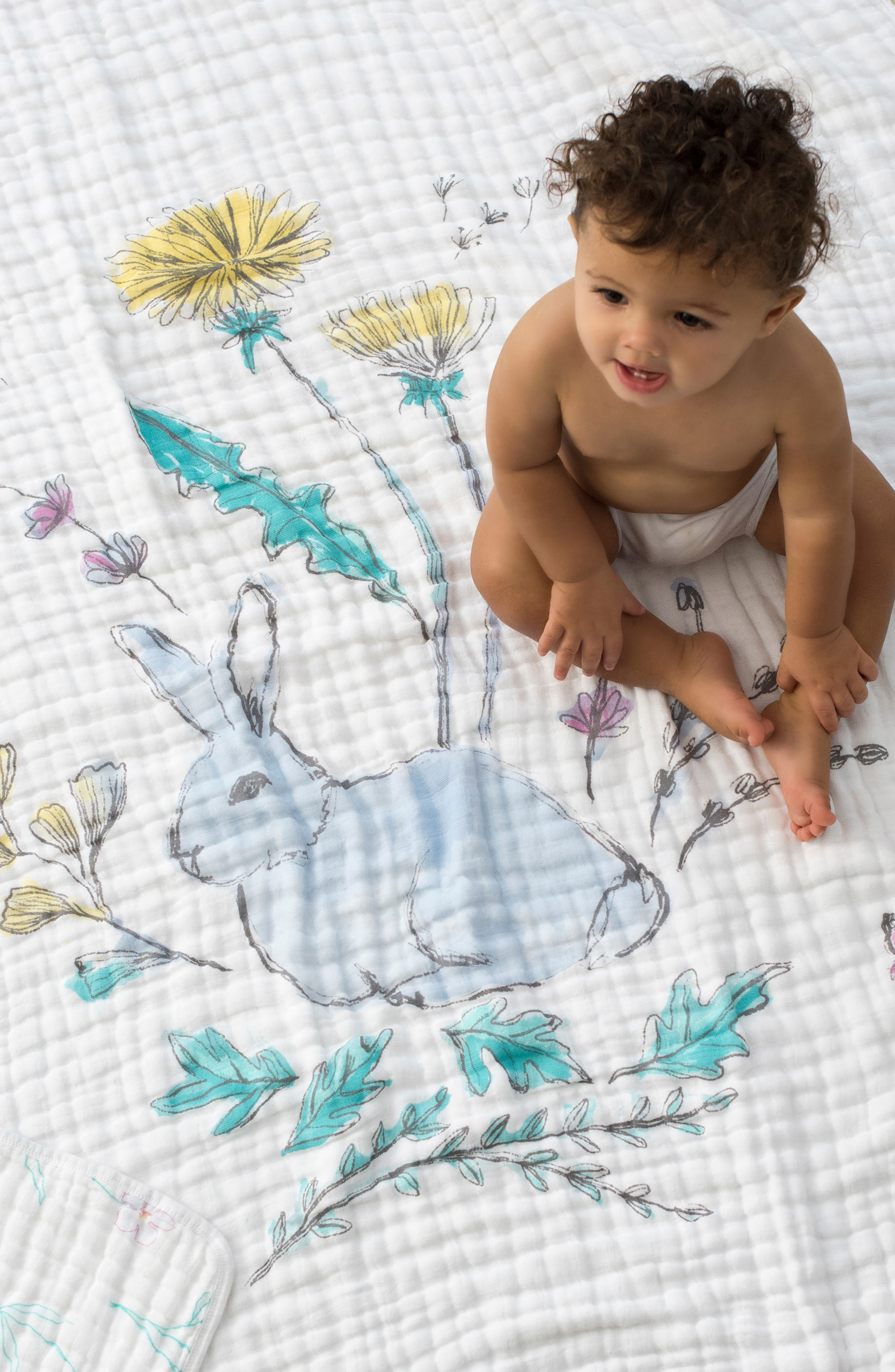 ADEN + ANAIS,                             Forest Fantasy Classic Dream Blanket<sup>™</sup>,                             Alternate thumbnail 4, color,                             FOREST FANTASY