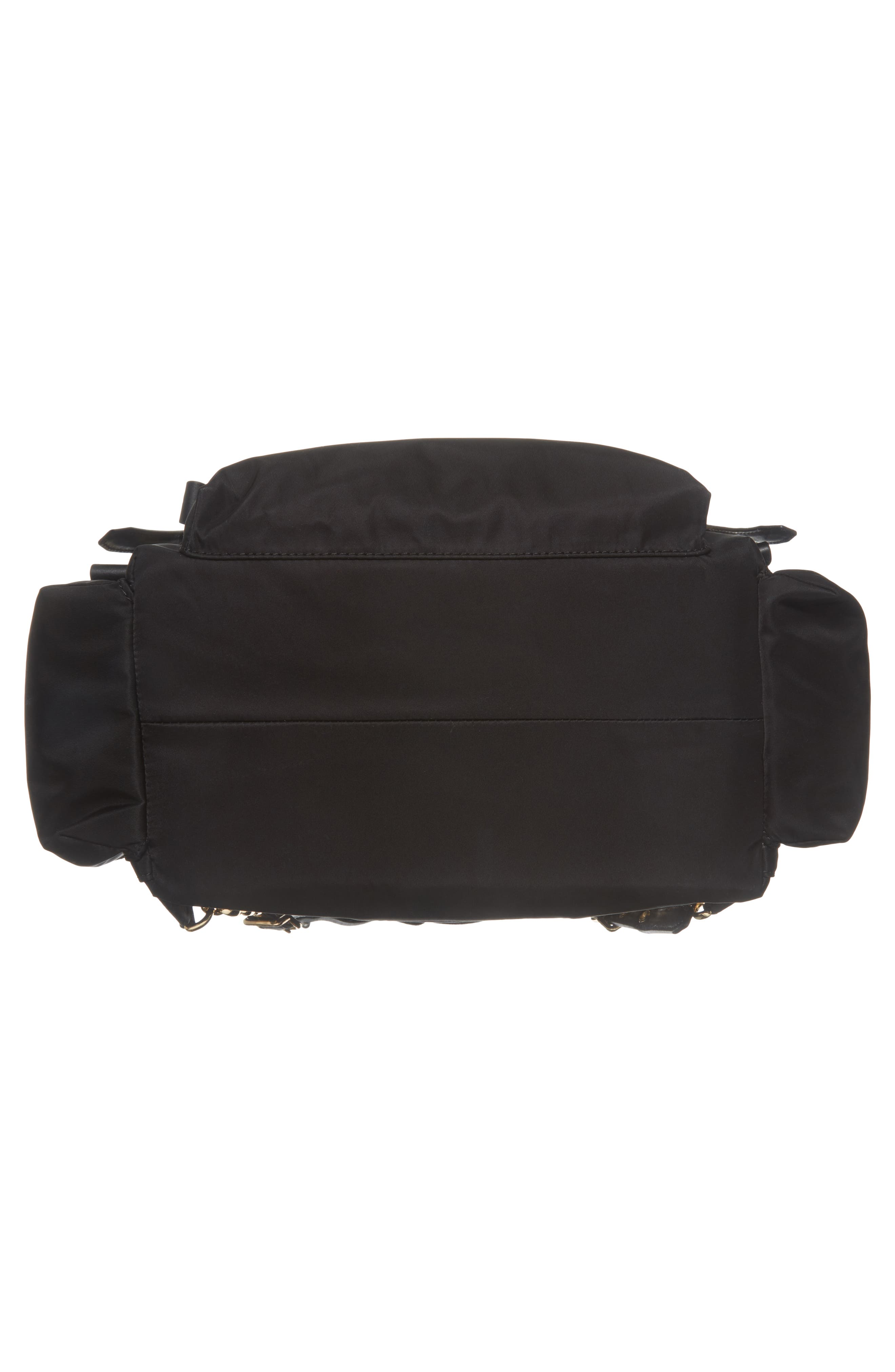Large Nylon Diaper Backpack,                             Alternate thumbnail 6, color,                             001