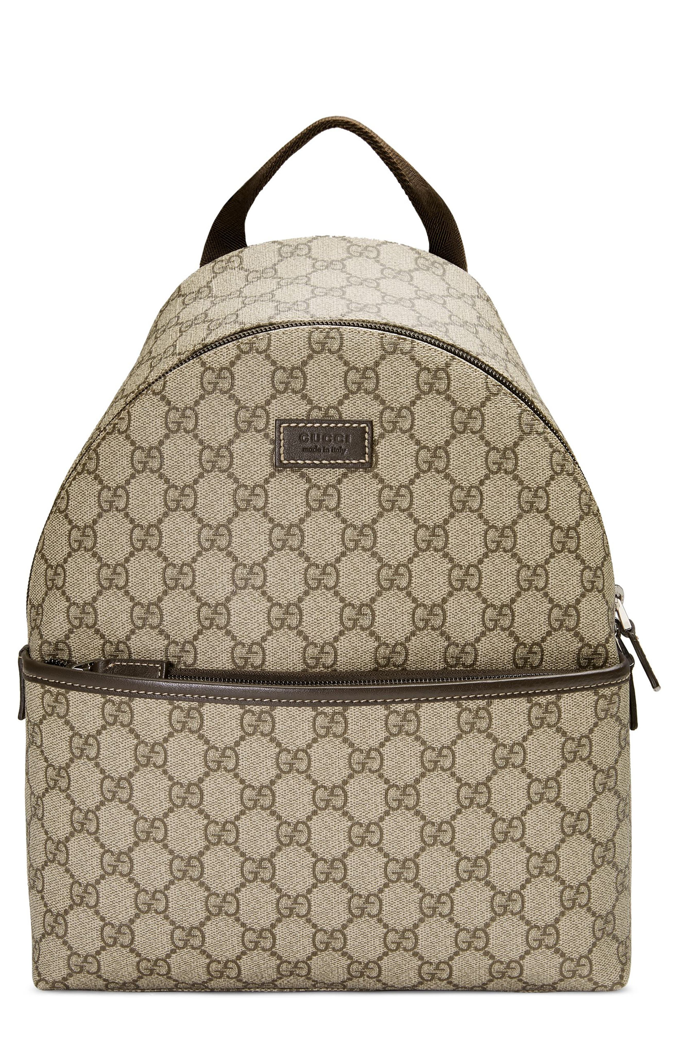 Logo Canvas Backpack, Main, color, 200
