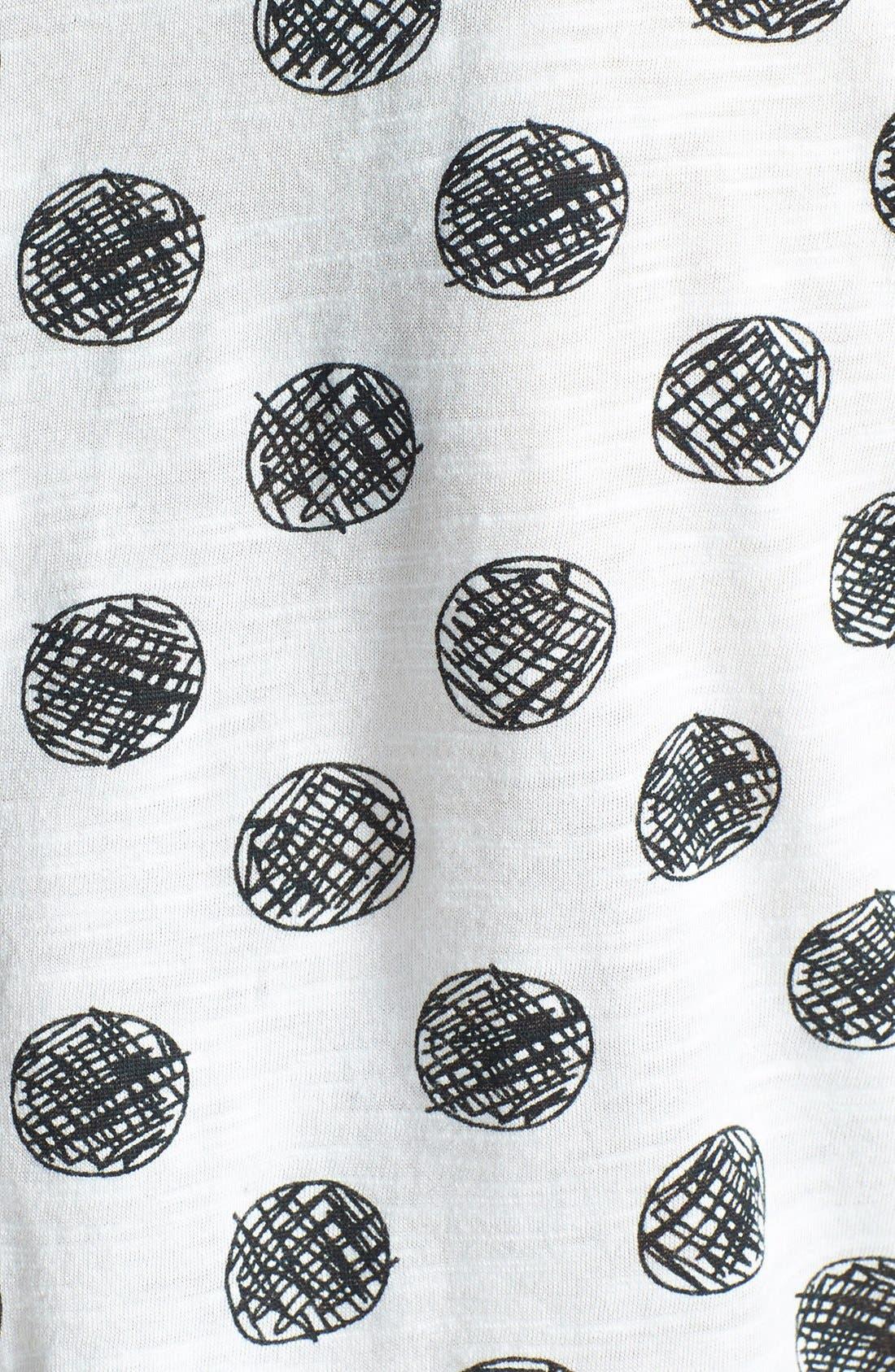 Short Sleeve Cotton & Modal Tee,                             Alternate thumbnail 31, color,