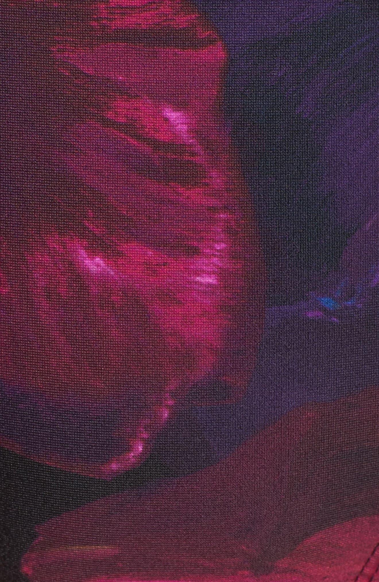 Imasoe Impressionist Side Tie Bikini Bottoms,                             Alternate thumbnail 5, color,                             001