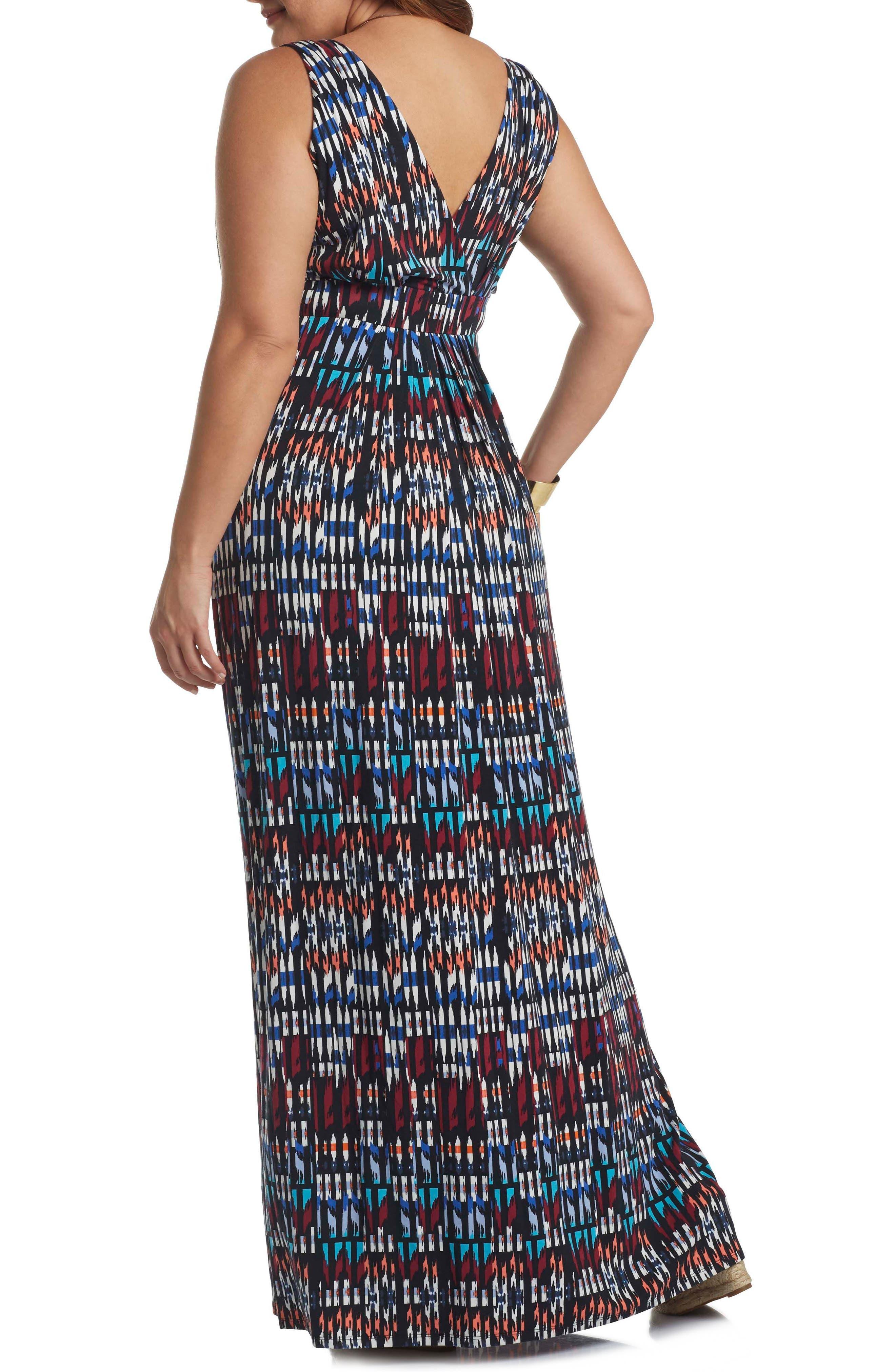 Chloe Empire Waist Maxi Dress,                             Alternate thumbnail 25, color,