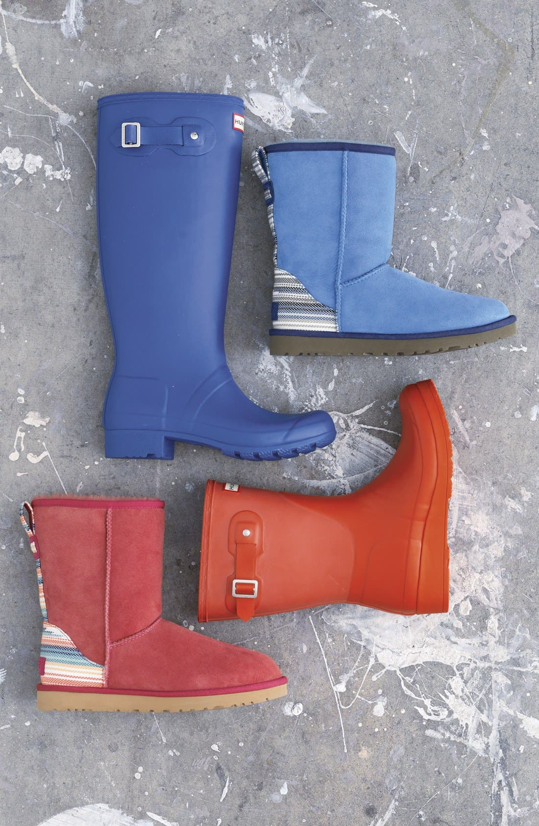 'Tour' Packable Rain Boot,                         Main,                         color,