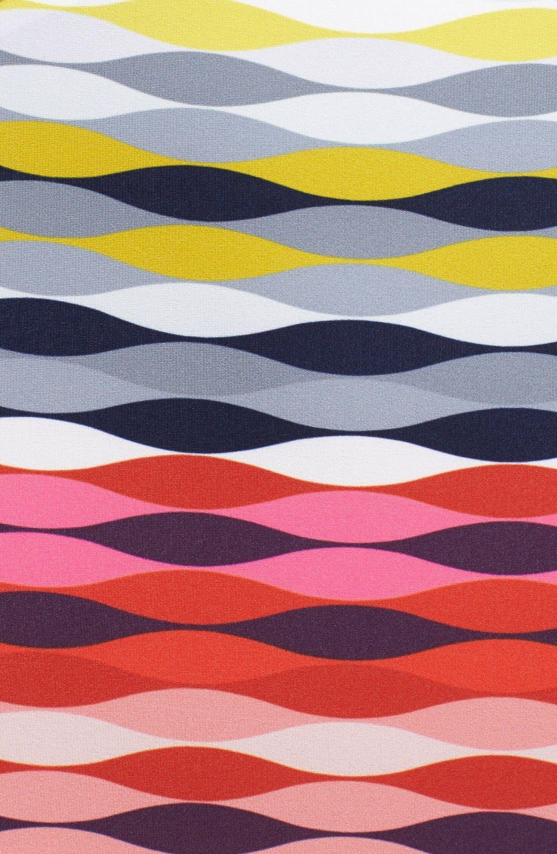 'Maiz' Print Jersey Maxi Dress,                             Alternate thumbnail 3, color,                             600