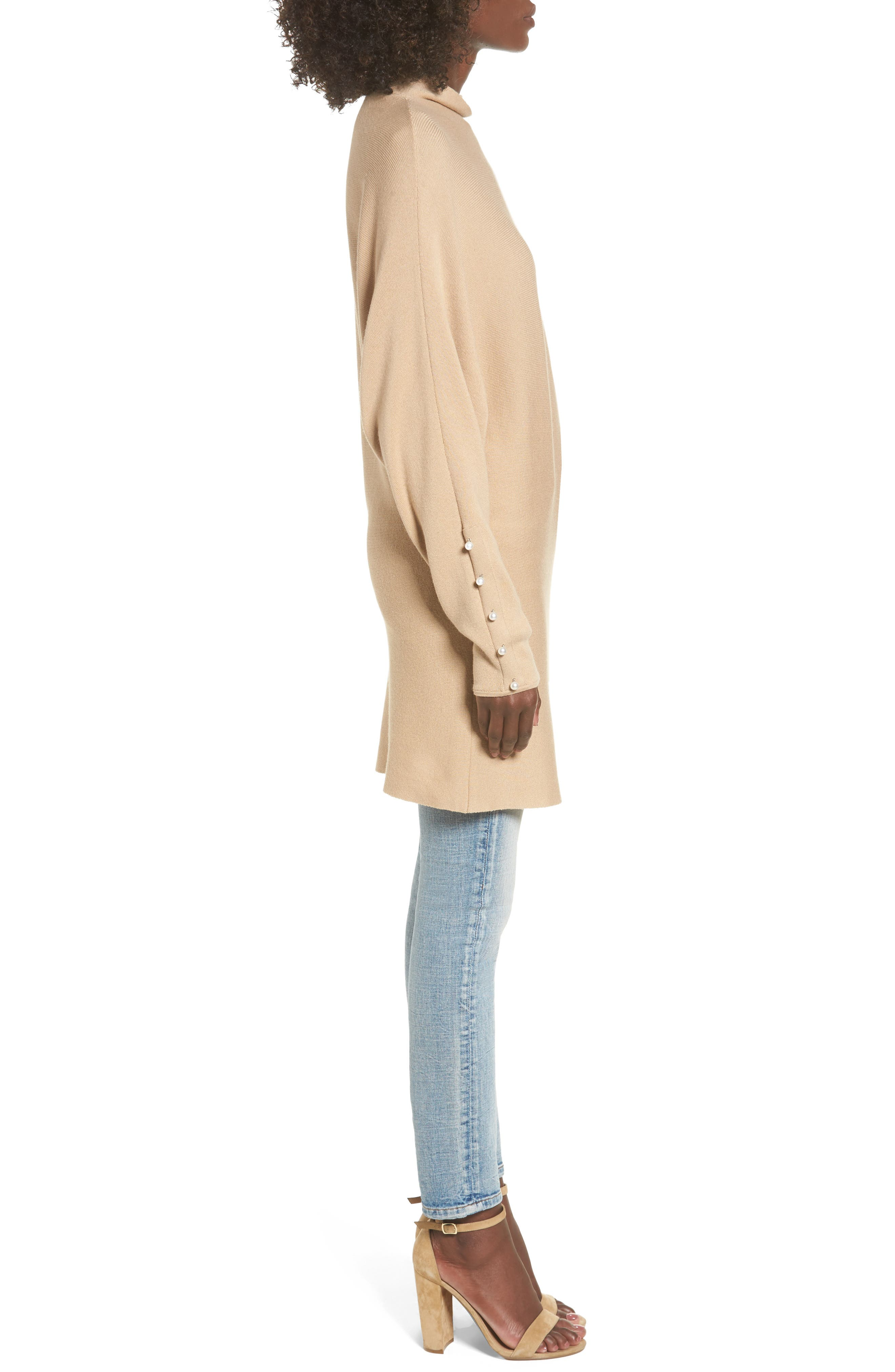 Dolman Sleeve Sweater,                             Alternate thumbnail 3, color,                             235