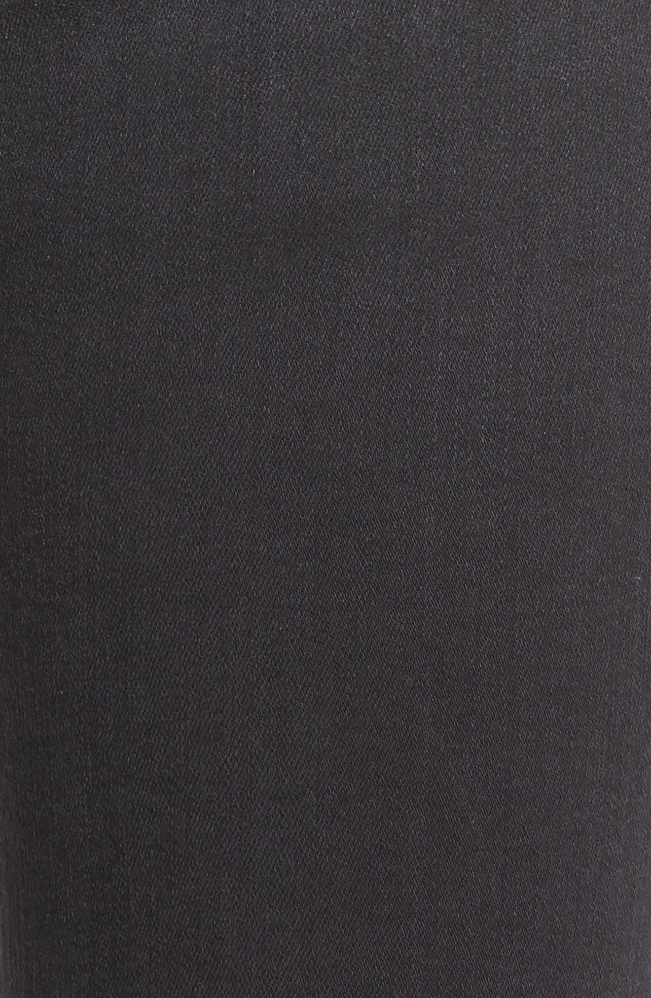 Belvedere Skinny Jeans,                             Alternate thumbnail 5, color,                             001