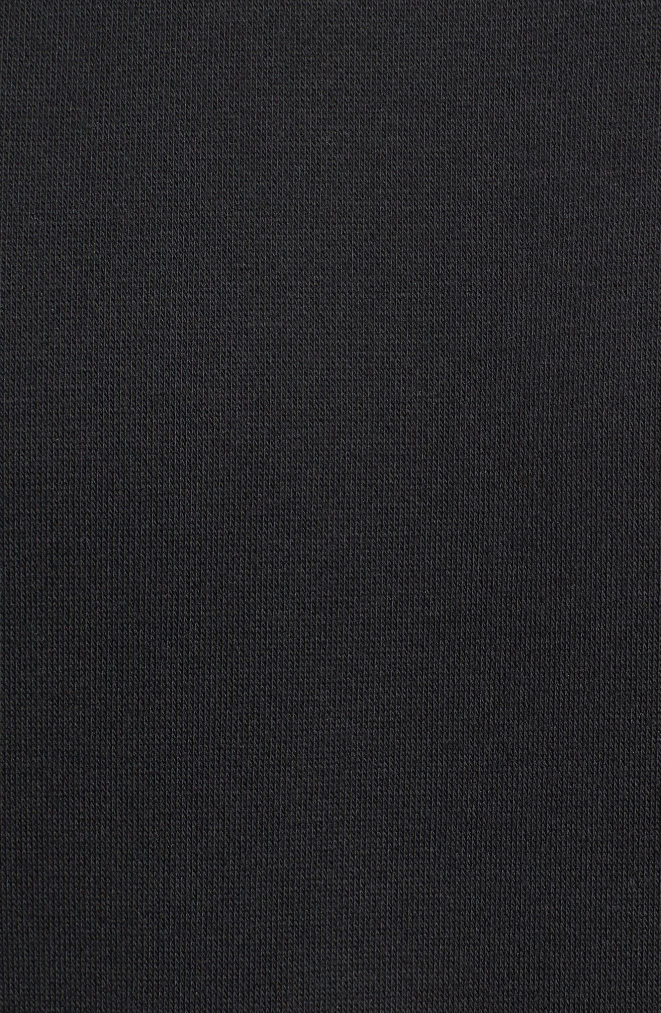 International Regular Fit Sweatshirt,                             Alternate thumbnail 5, color,                             BLACK
