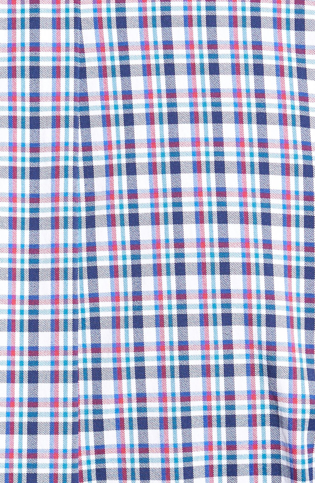 Matthers Easy Care Plaid Sport Shirt,                             Alternate thumbnail 5, color,                             490
