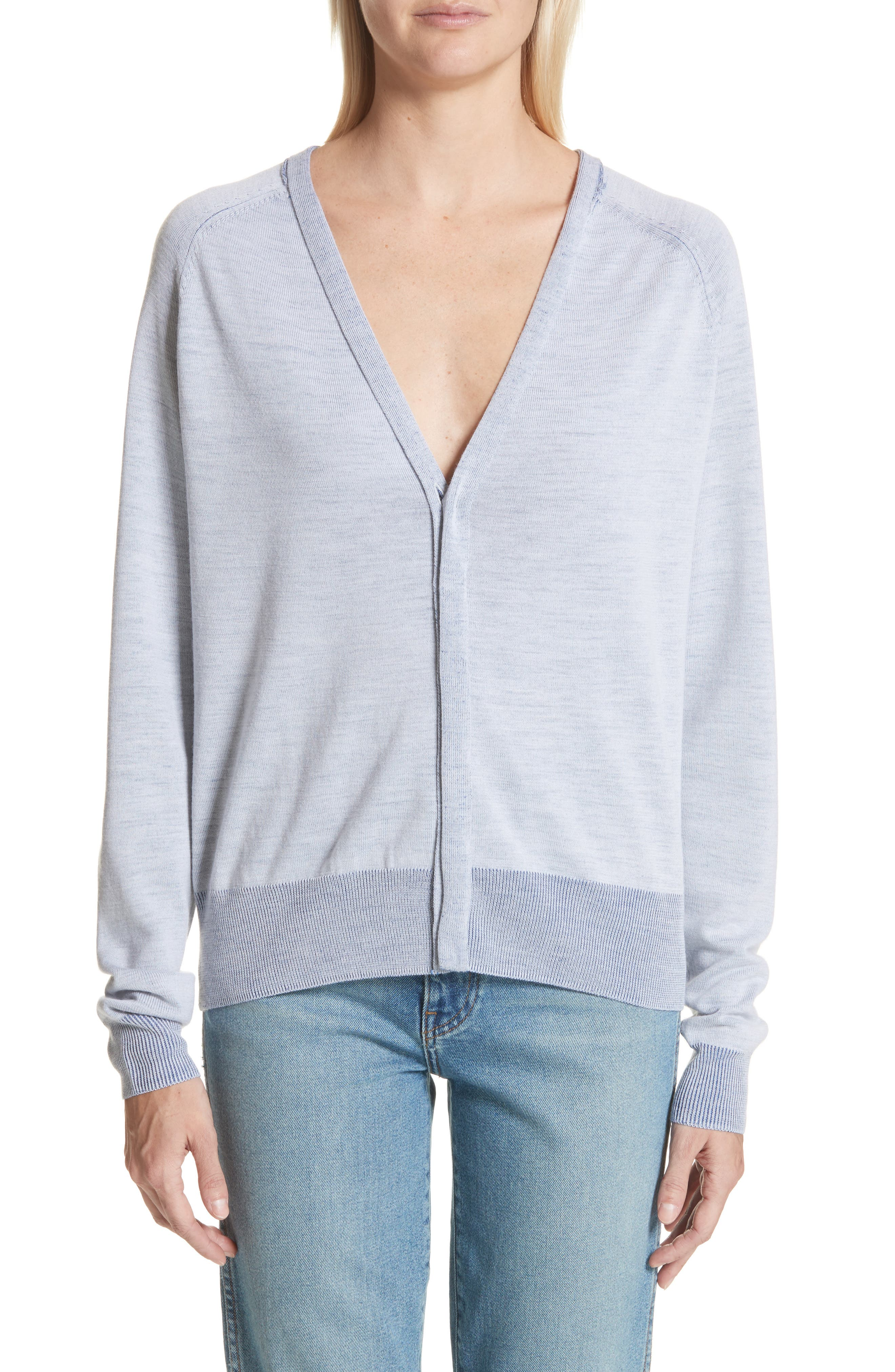 Florence V-Neck Cardigan,                         Main,                         color, 400
