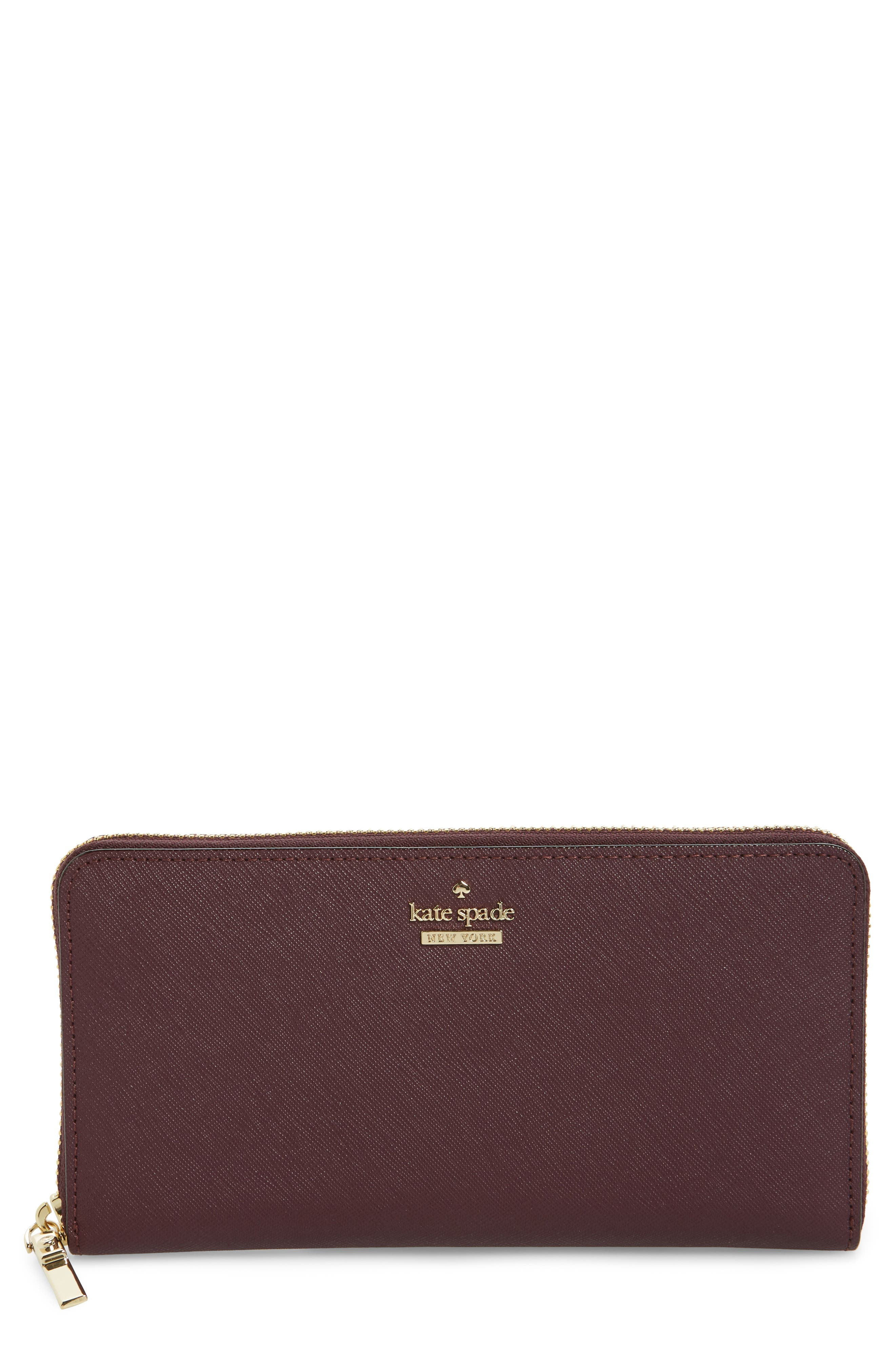 'cameron street - lacey' leather wallet,                             Main thumbnail 3, color,