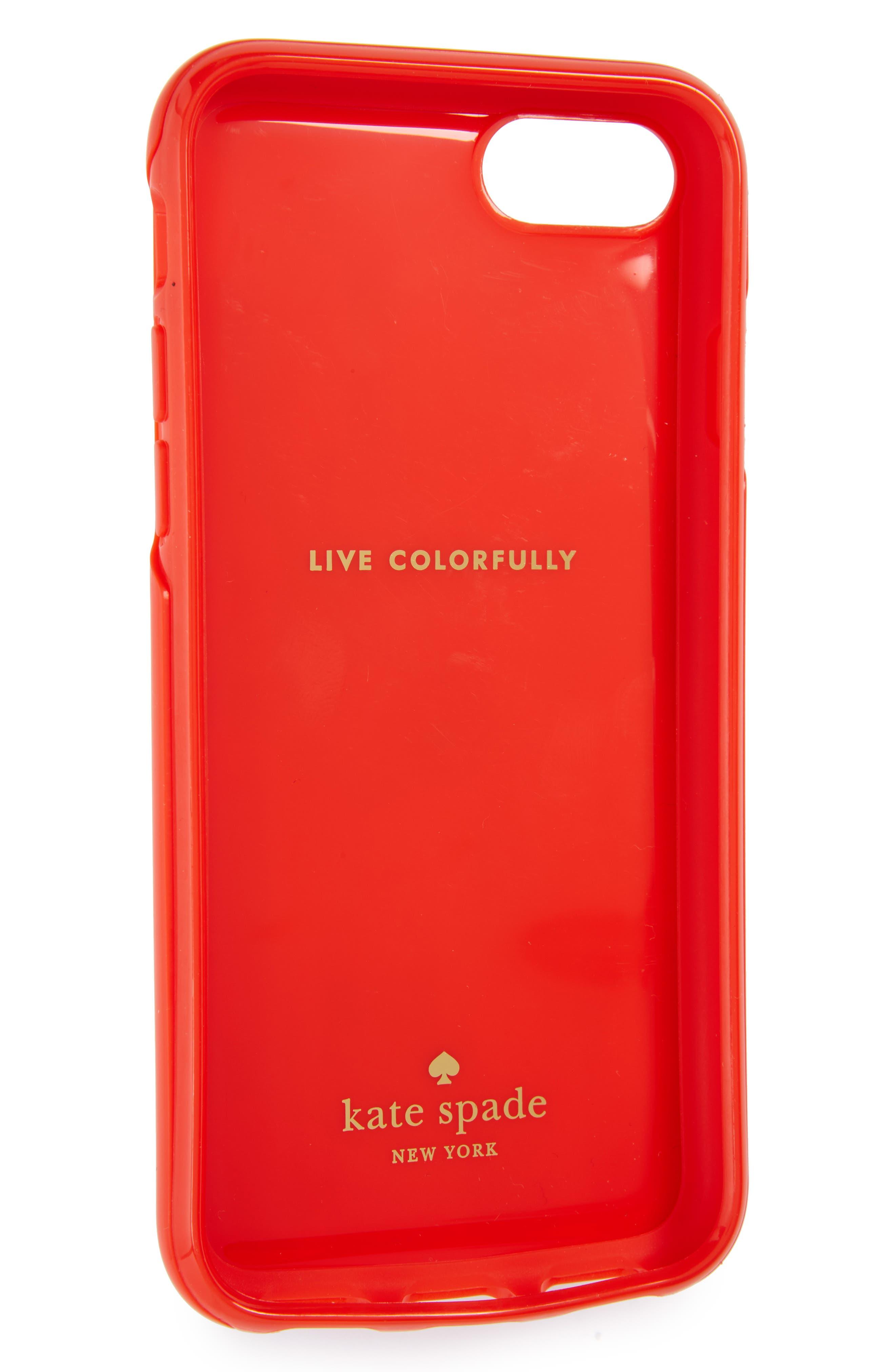 hot sauce iPhone 7/8 & 7/8 Plus case,                             Alternate thumbnail 2, color,                             600