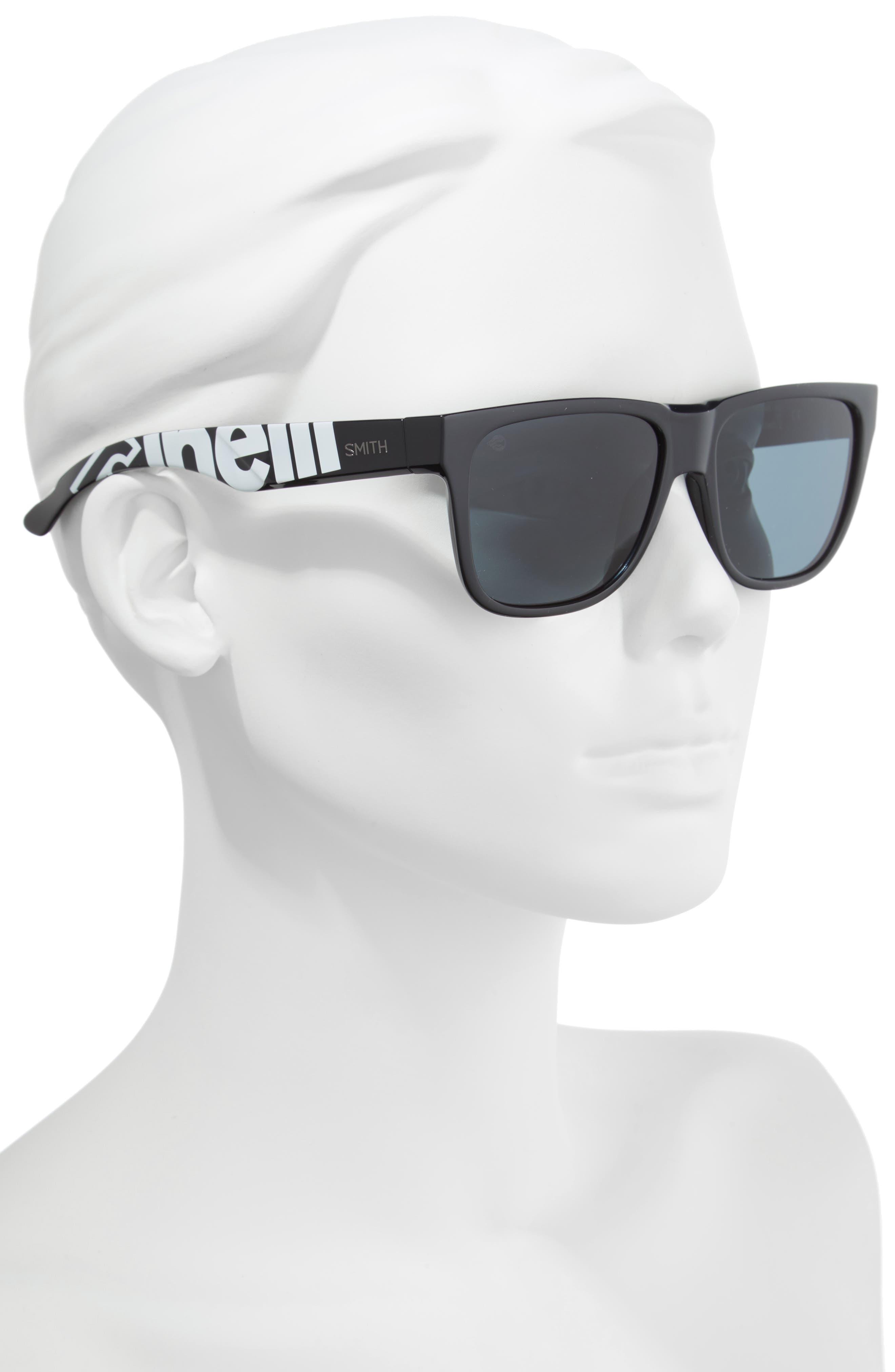 Lowdown 2 55mm ChromaPop<sup>™</sup> Square Sunglasses,                             Alternate thumbnail 2, color,                             CINELLI