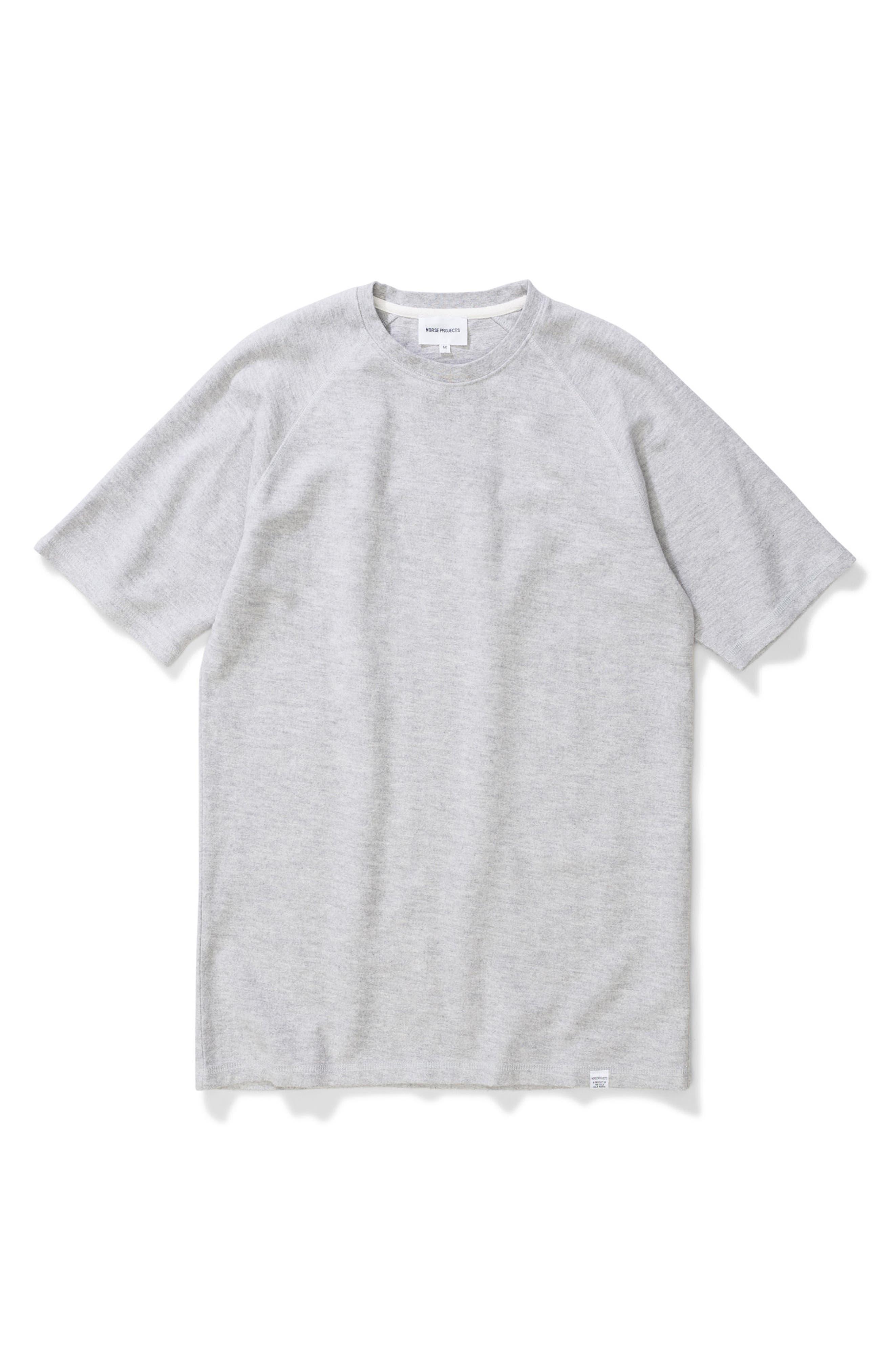 Victor Brushed Cotton T-Shirt,                             Alternate thumbnail 9, color,                             050