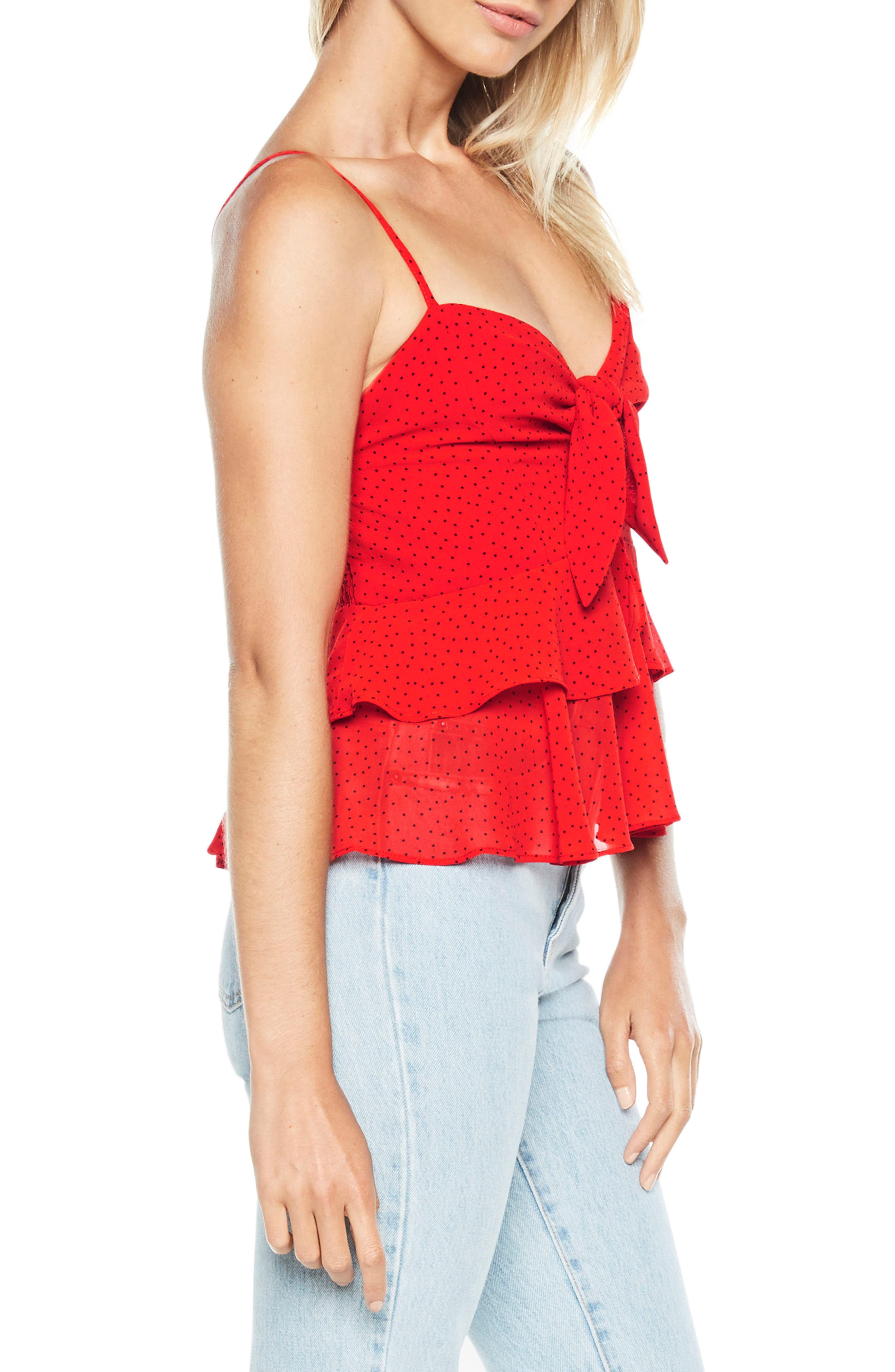 Caeln Bow Camisole,                             Alternate thumbnail 3, color,                             647