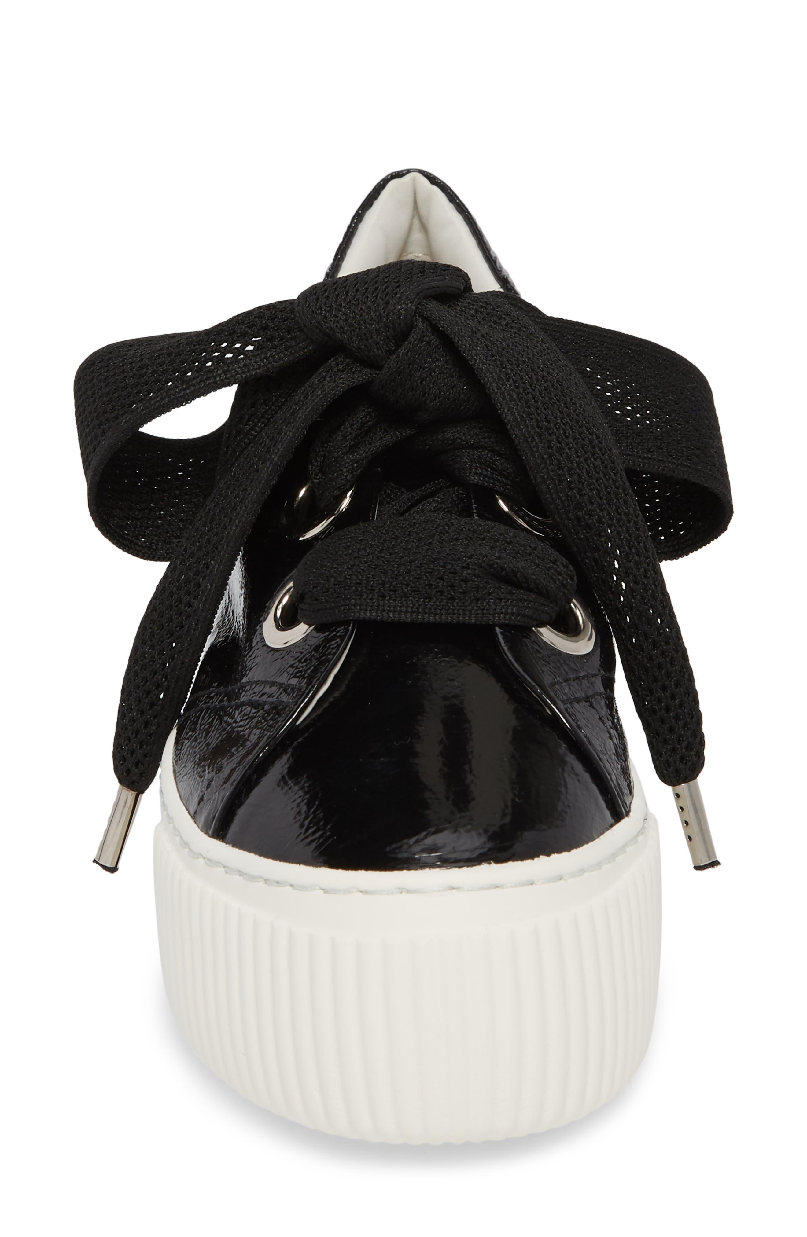 Platform Sneaker,                             Alternate thumbnail 4, color,                             001