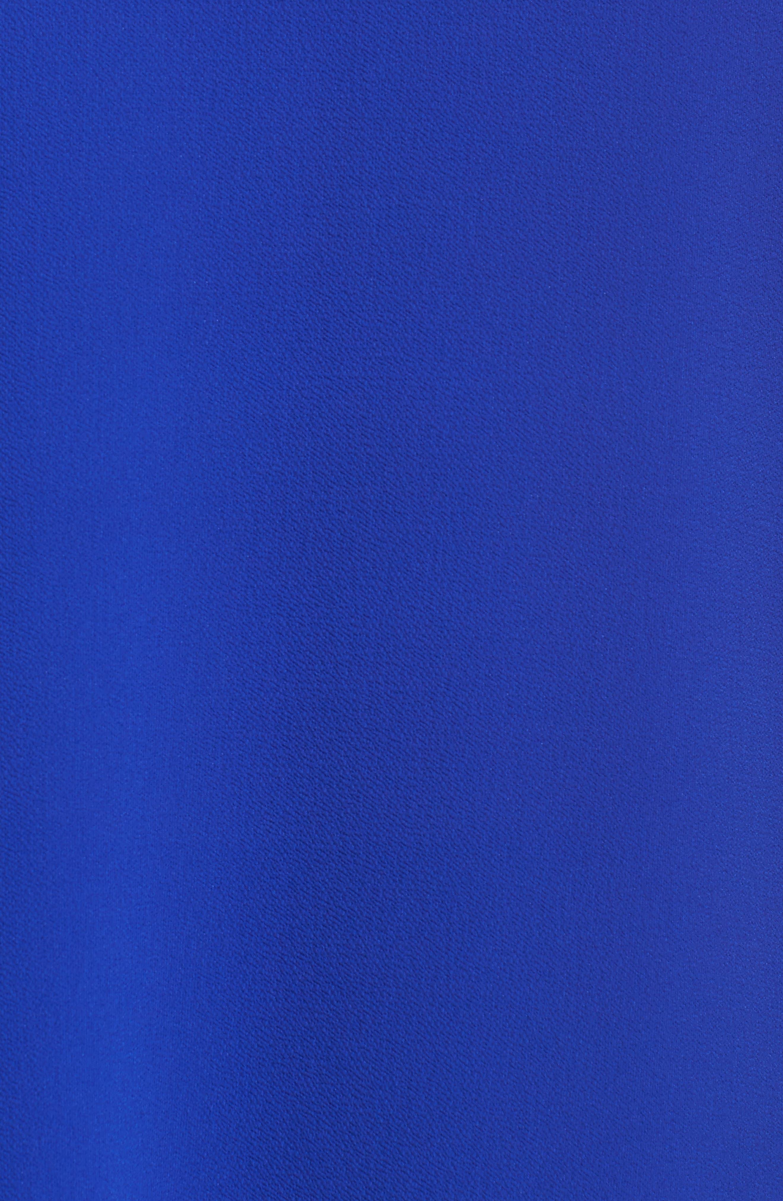 Bell Sleeve Cold Shoulder Blouse,                             Alternate thumbnail 5, color,                             457