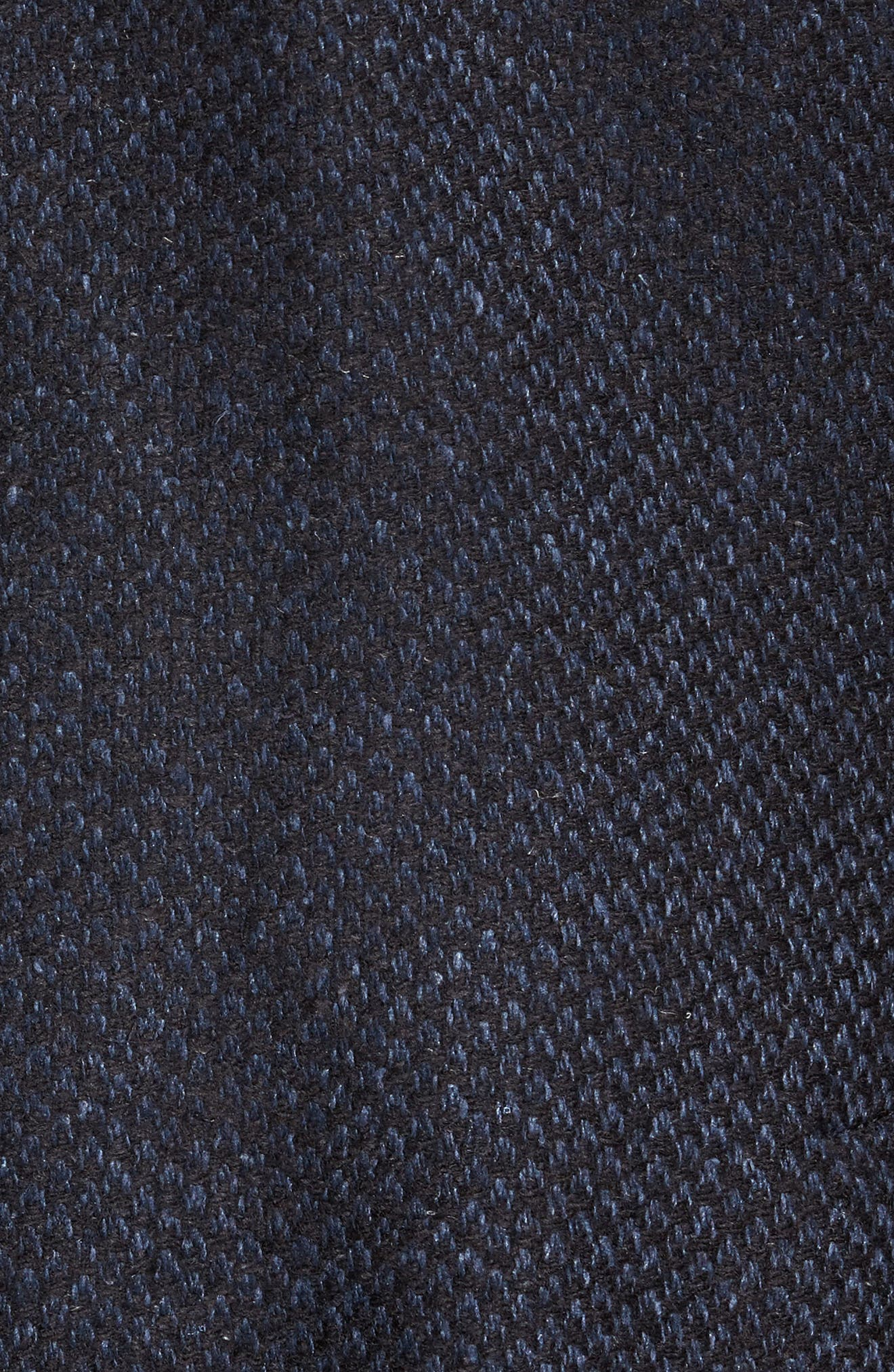 Woven Wool & Silk Blend Sport Coat,                             Alternate thumbnail 6, color,