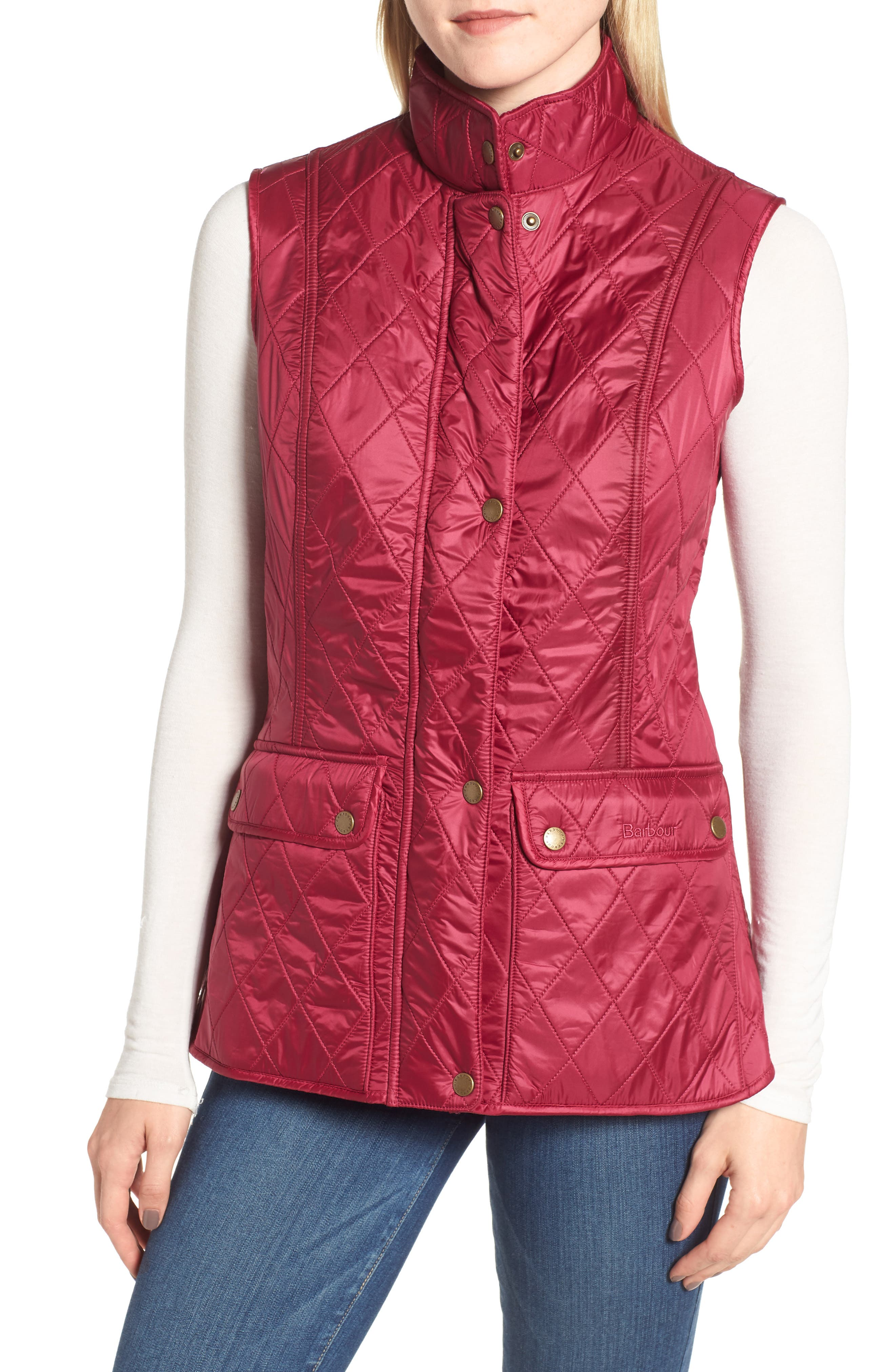 Barbour Wray Vest, US / 8 UK - Pink
