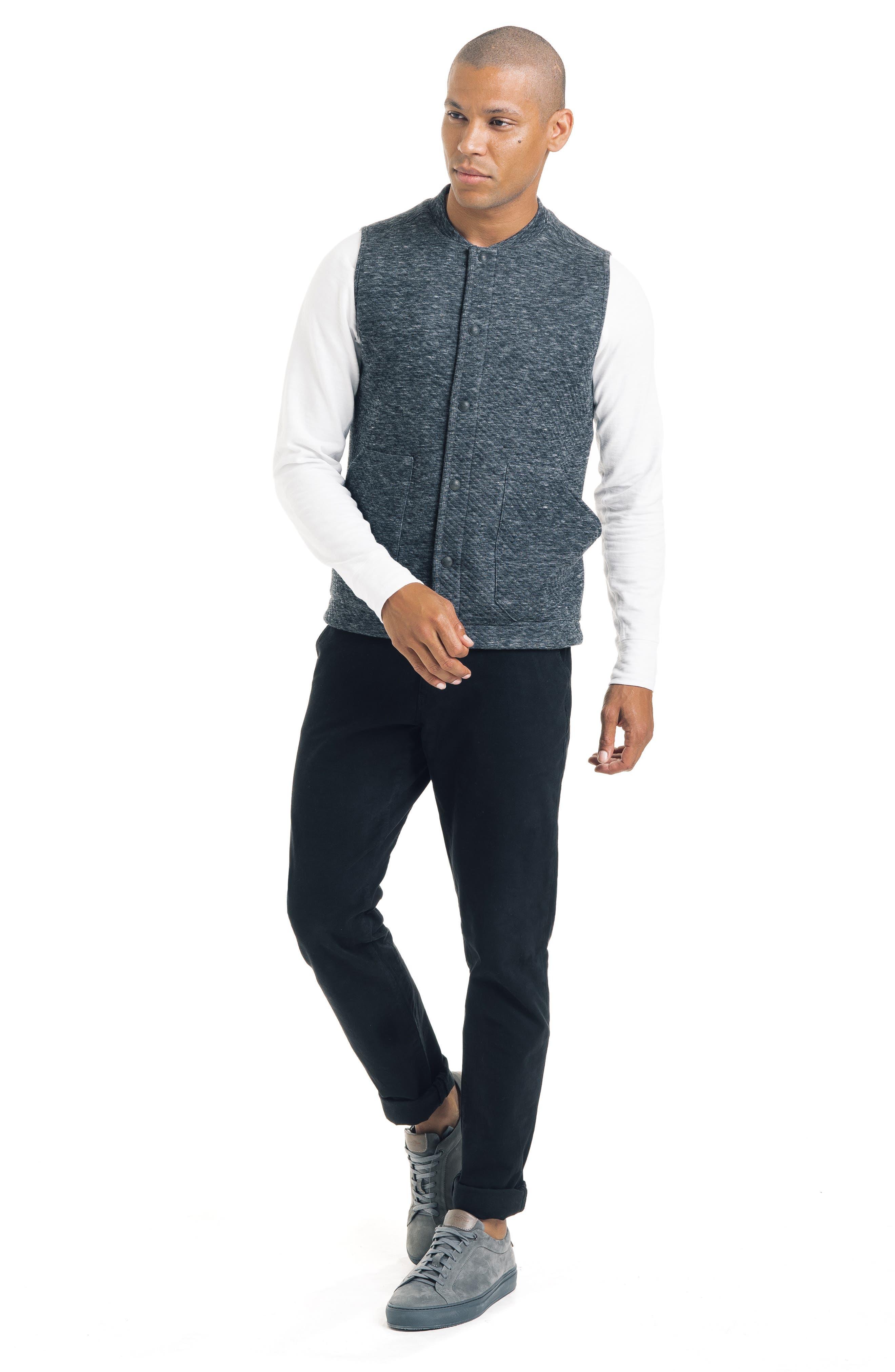 Slim Fit Vest,                             Alternate thumbnail 5, color,                             032