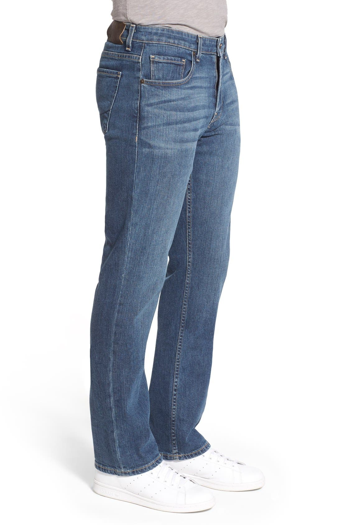 'Doheny' Relaxed Fit Jeans,                             Alternate thumbnail 5, color,                             400
