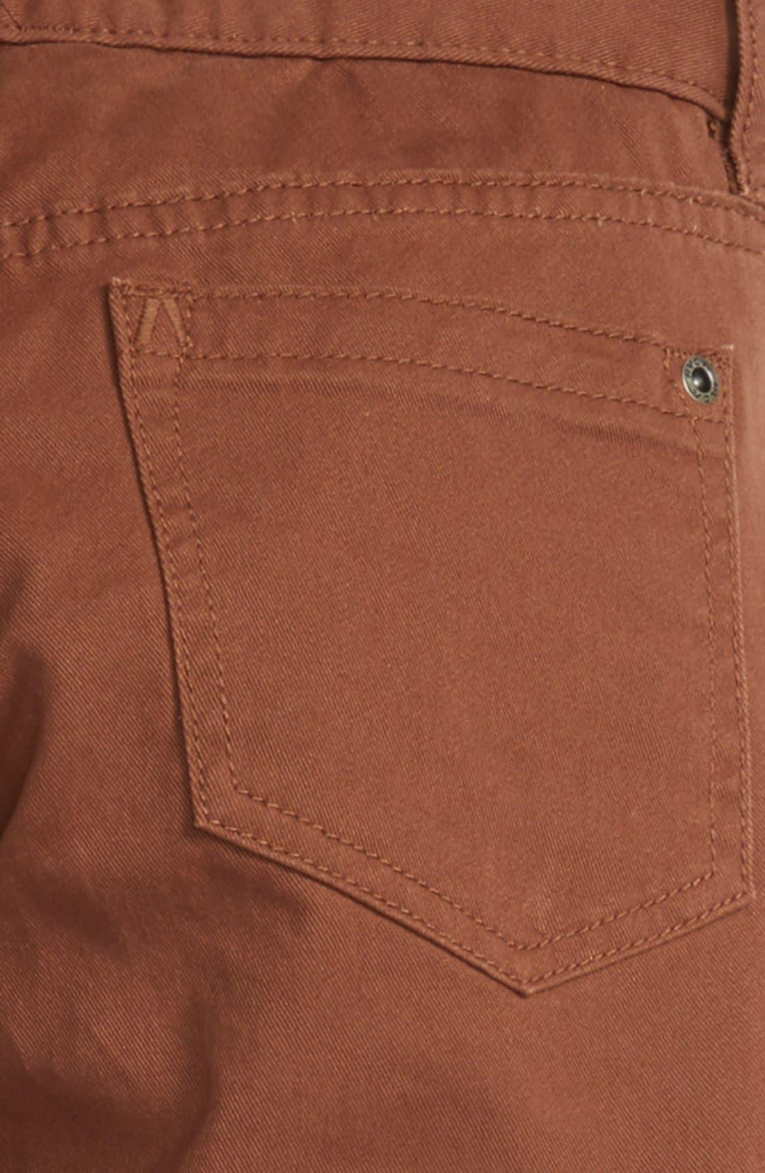 'Daggers' Slim Fit Twill Pants,                             Alternate thumbnail 12, color,