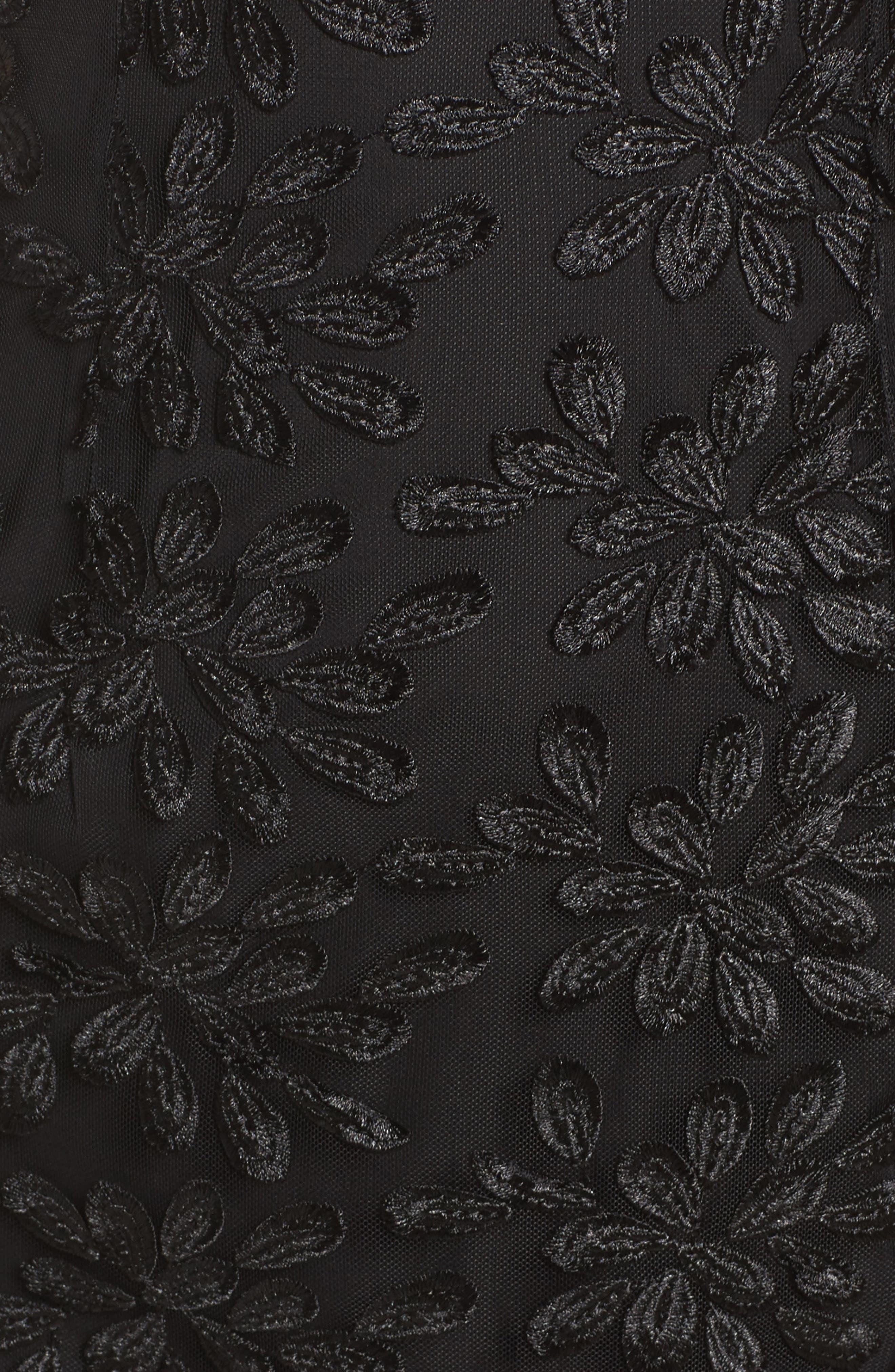 Fiona Lace Dress,                             Alternate thumbnail 5, color,                             001