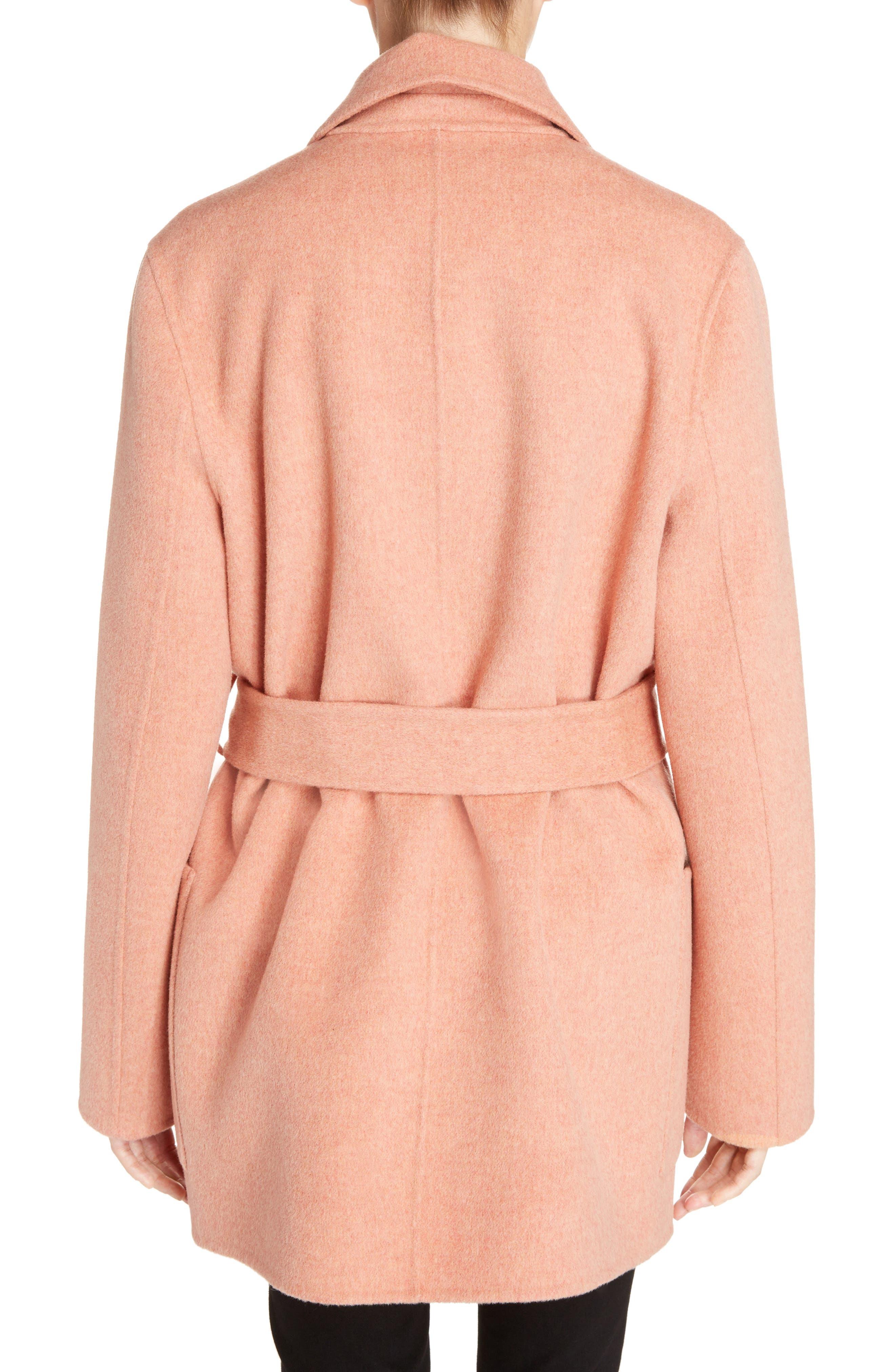 Anika Doublé Wool & Cashmere Coat,                             Alternate thumbnail 2, color,                             650