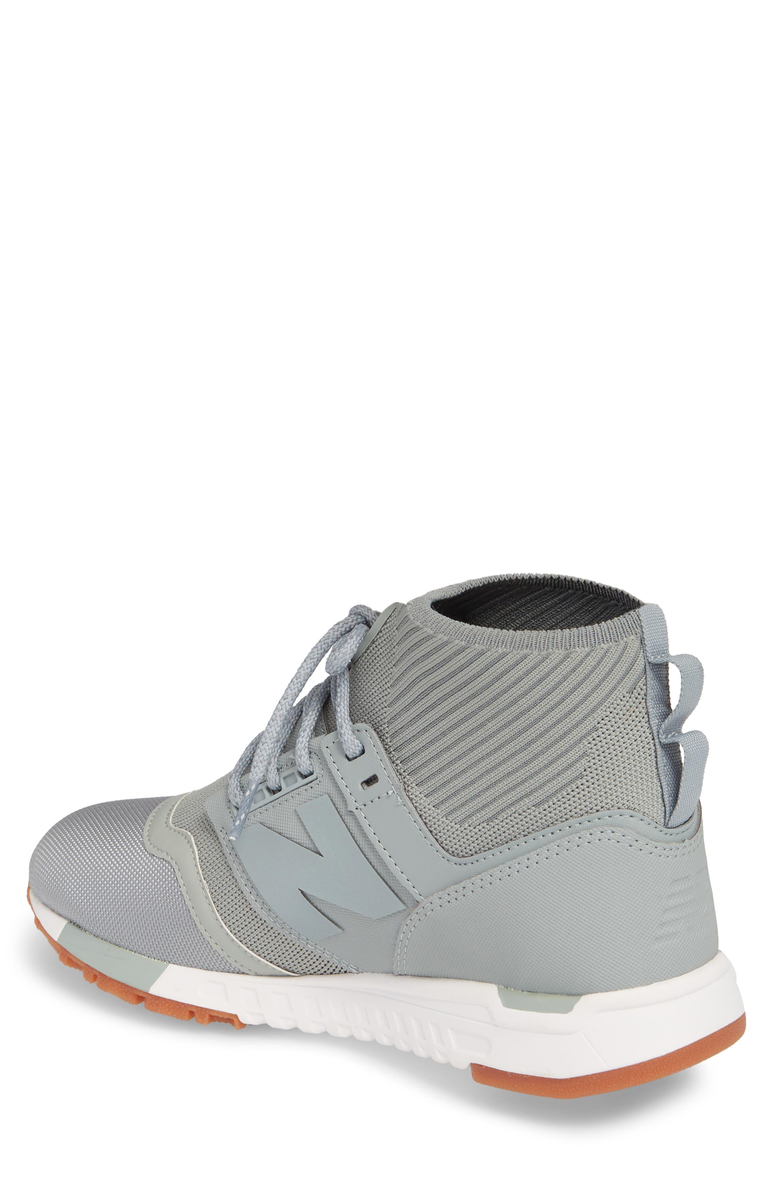 247 Mid Sneaker,                             Alternate thumbnail 6, color,