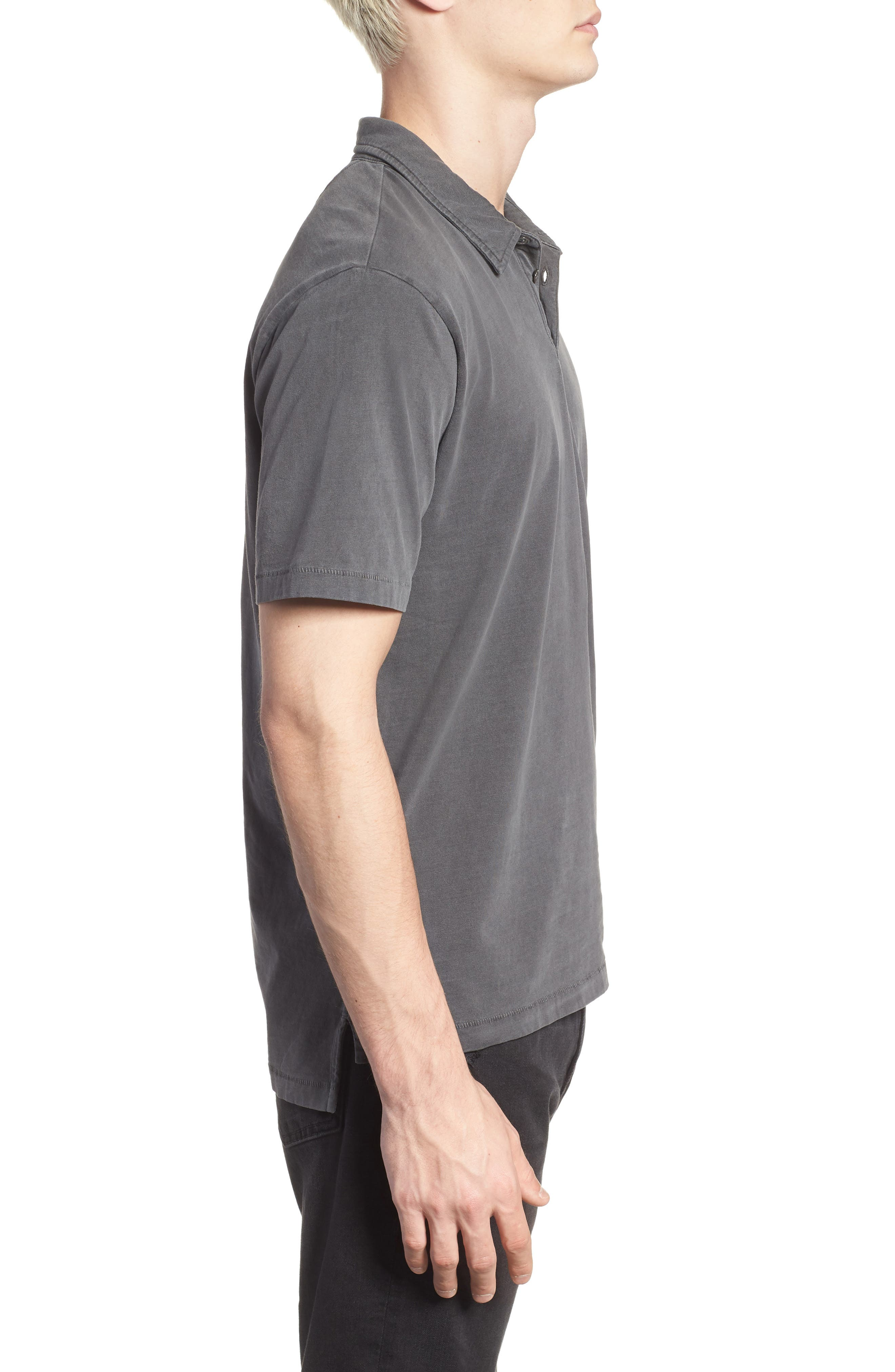 Classic Fit Polo,                             Alternate thumbnail 3, color,                             001