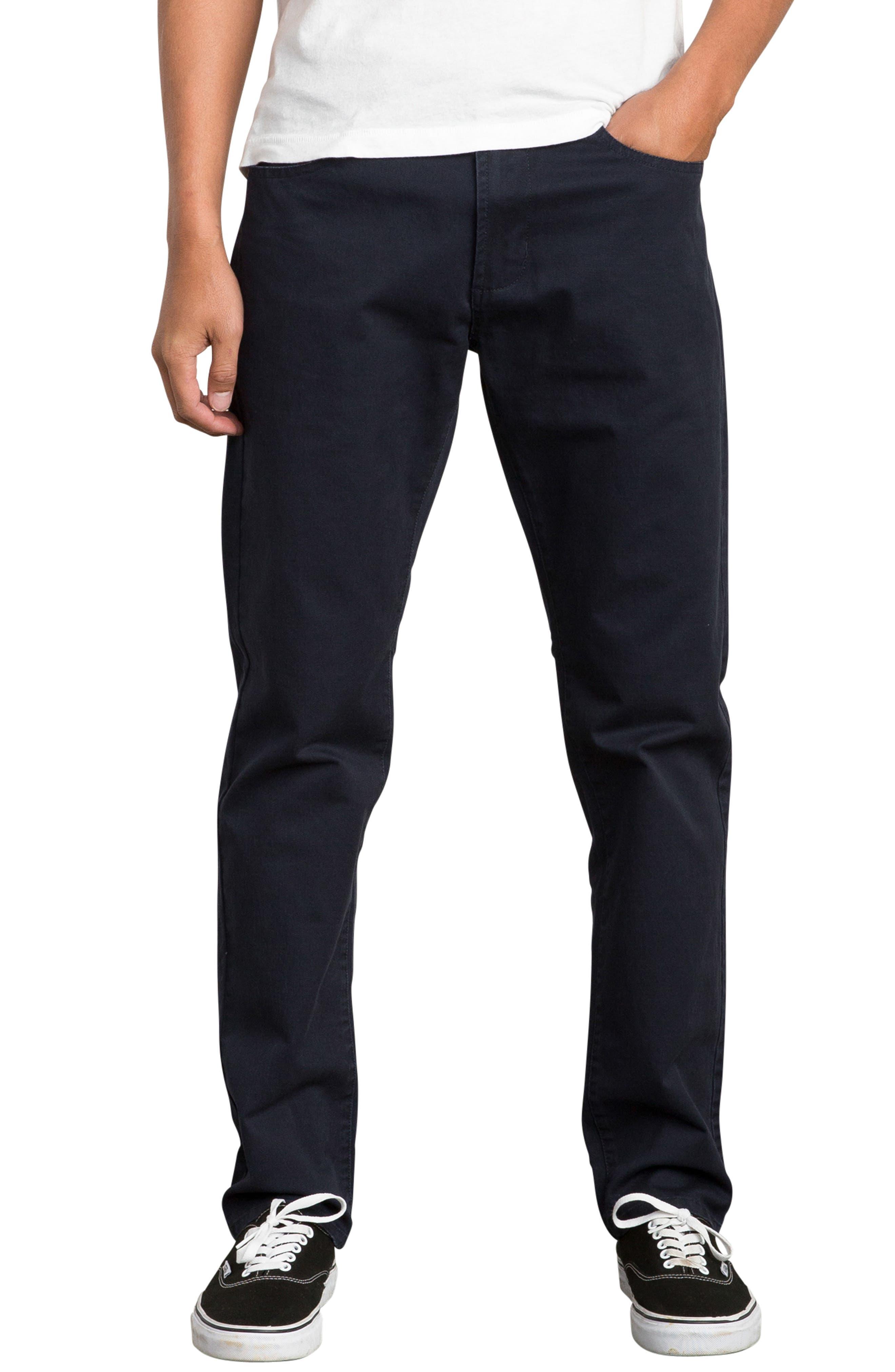 'Daggers' Slim Fit Twill Pants,                         Main,                         color, 402
