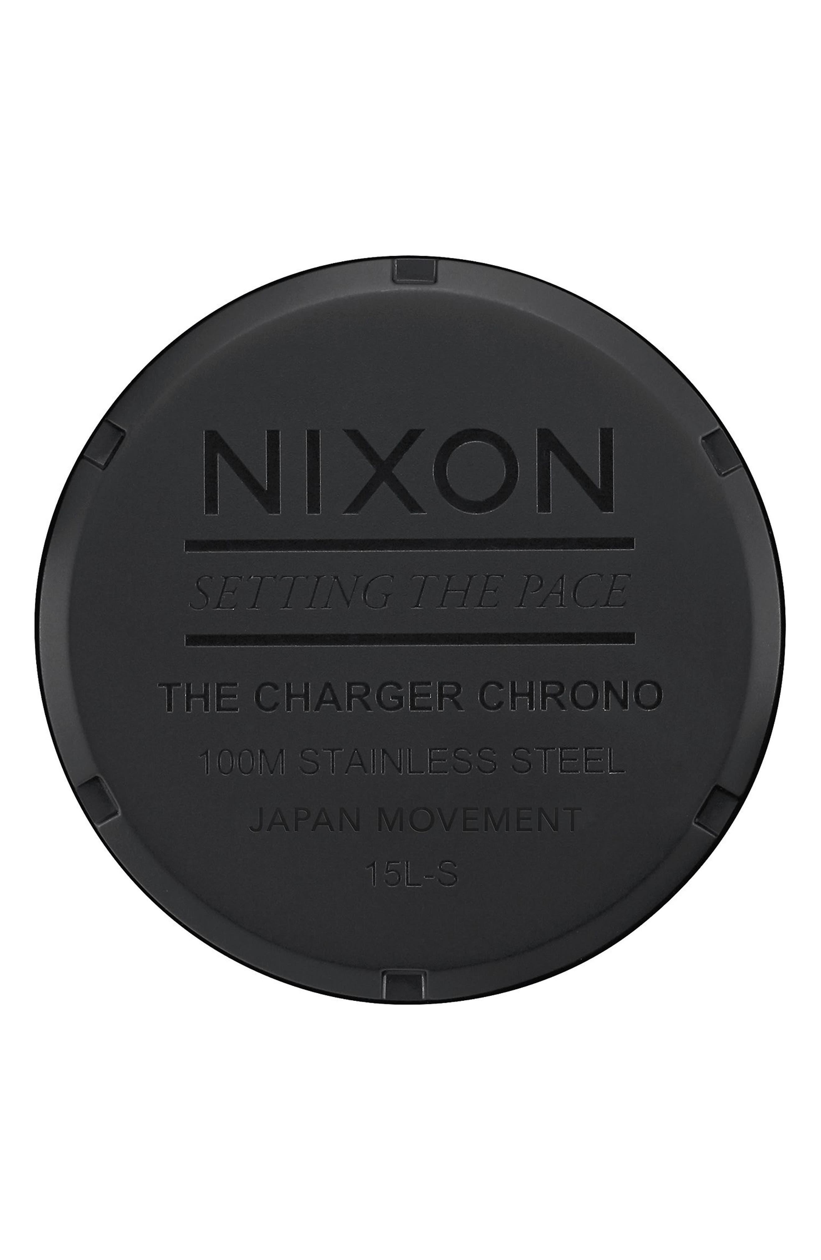 Charger Chronograph Bracelet Watch, 42mm,                             Alternate thumbnail 8, color,