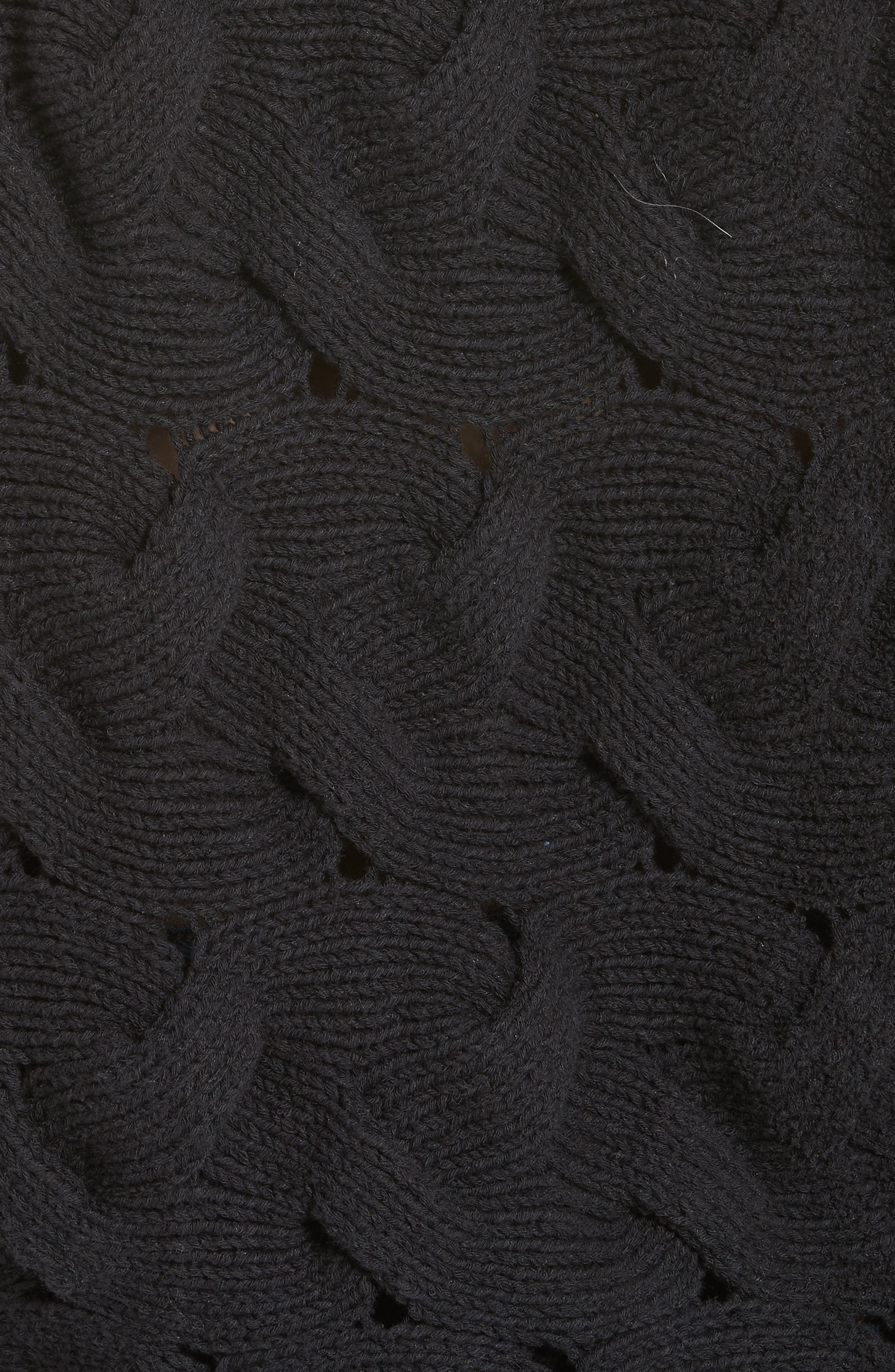 Desert Sands Cable Pullover,                             Alternate thumbnail 5, color,                             001