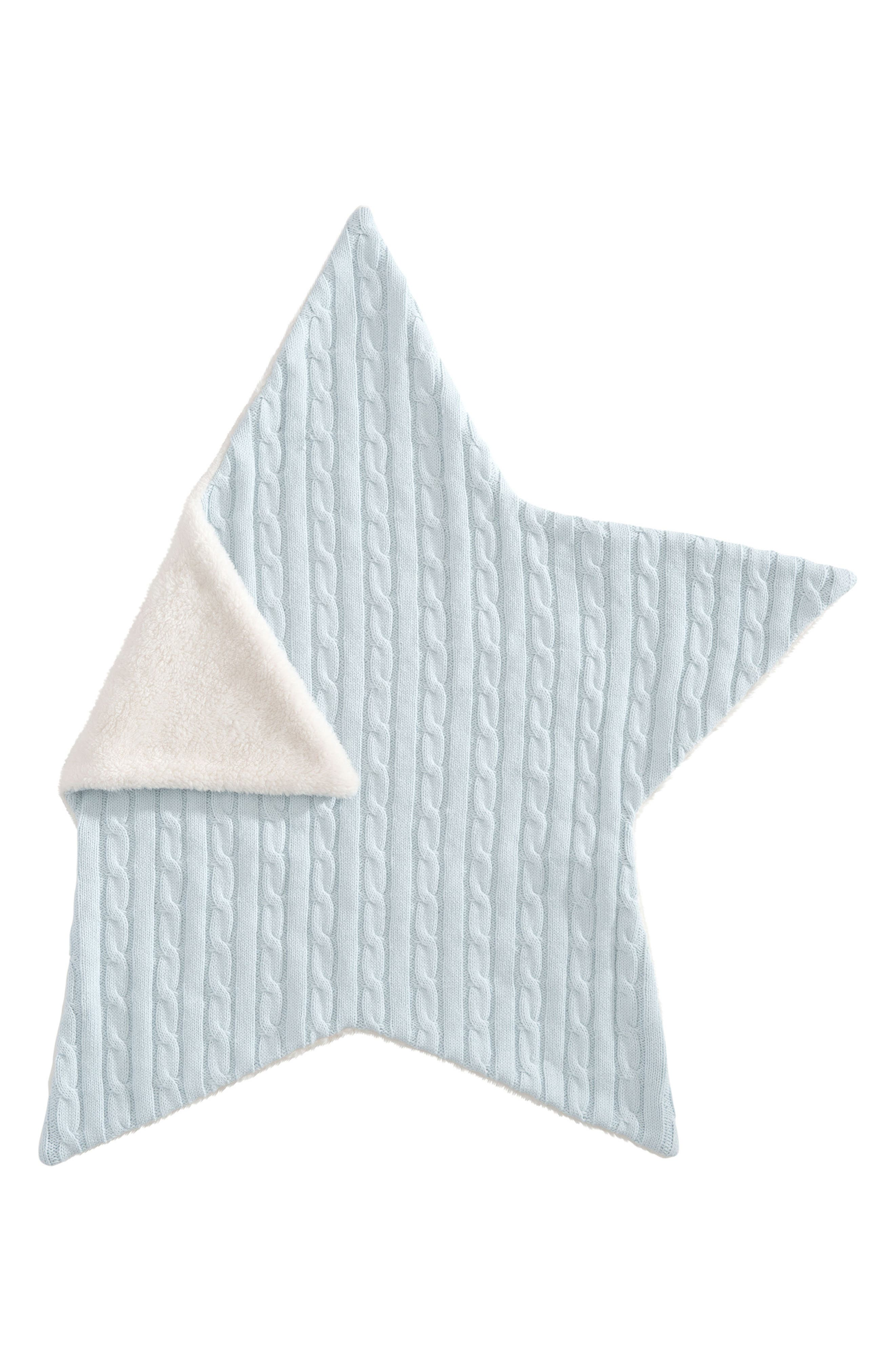 Cable Knit Star Blanket,                             Alternate thumbnail 5, color,