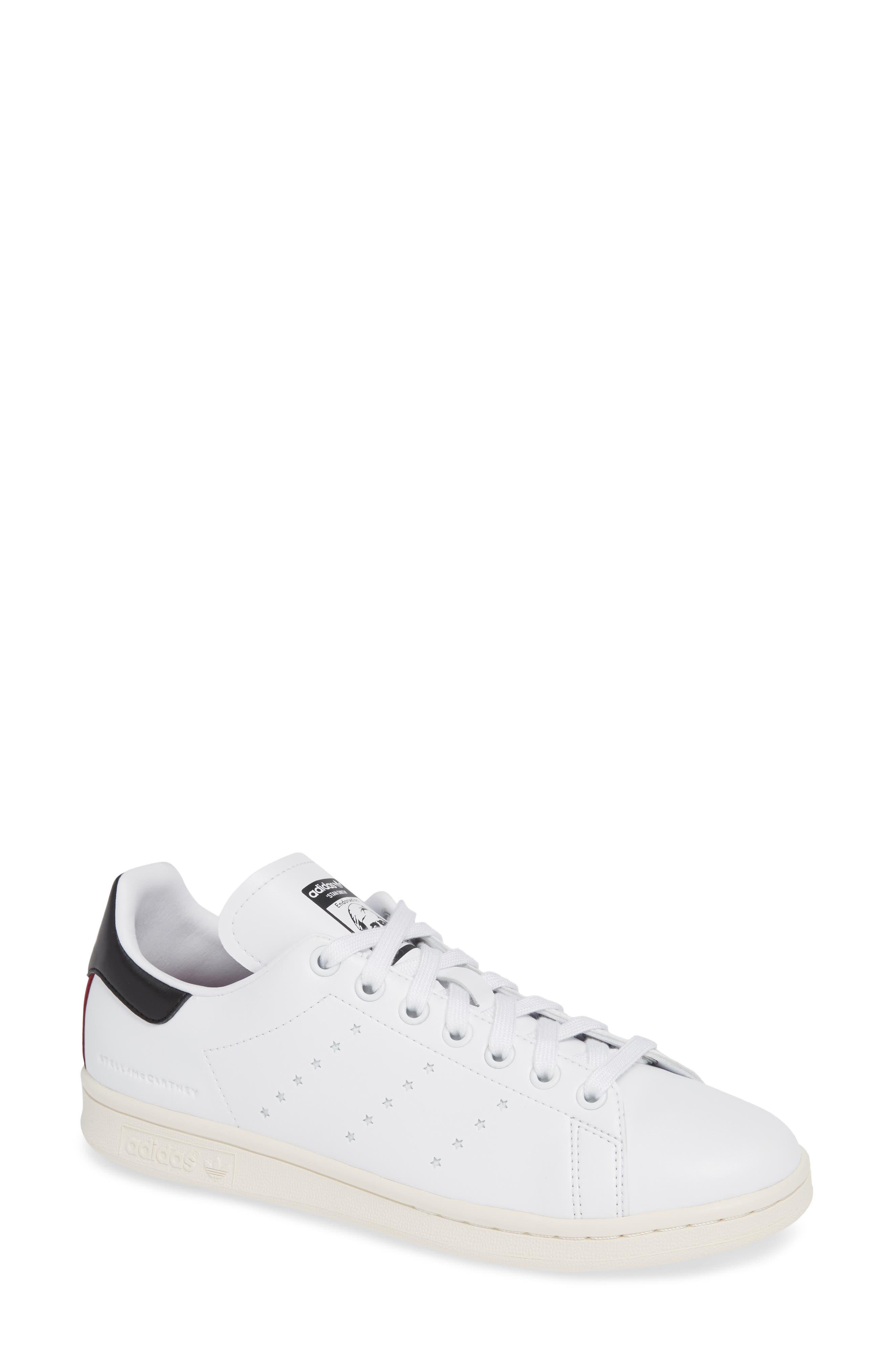 Stan Smith Sneaker,                             Main thumbnail 1, color,                             WHITE