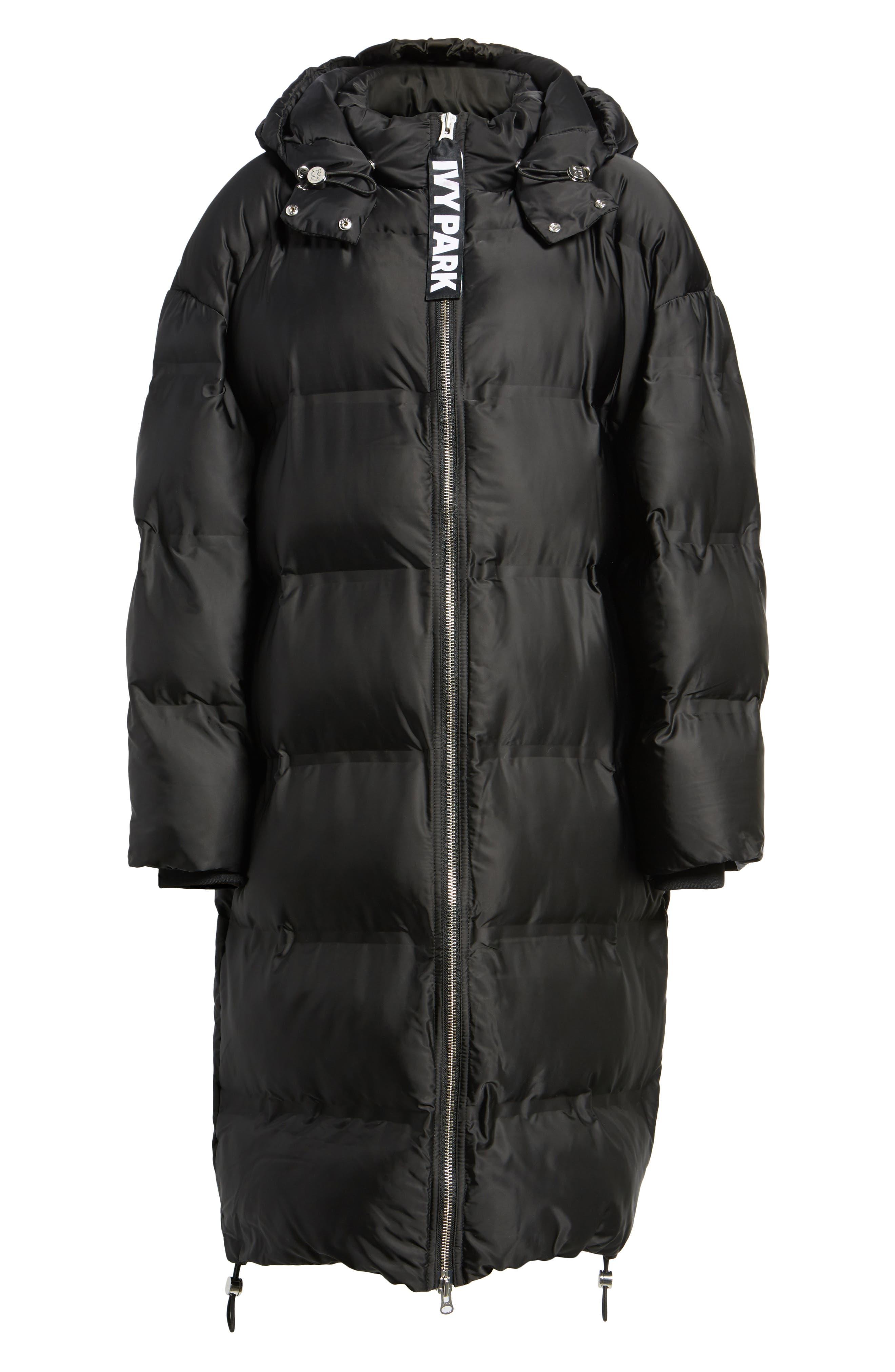 Longline Bonded Puffer Jacket,                             Alternate thumbnail 6, color,