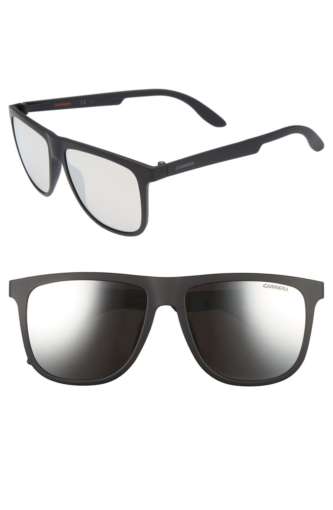 5003ST 57mm Sunglasses,                             Alternate thumbnail 2, color,                             001