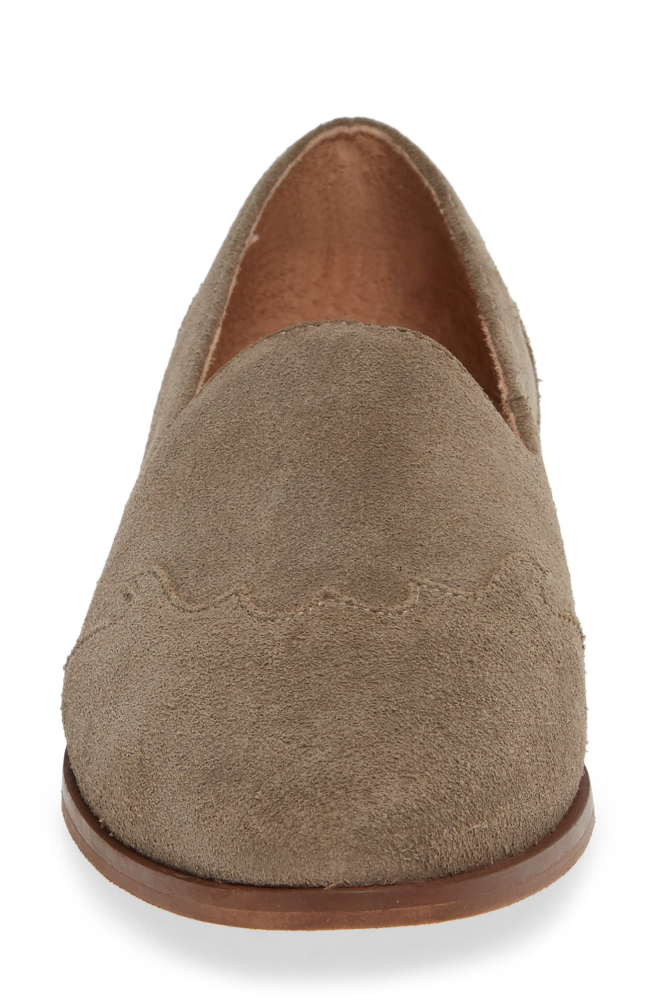 Revolution Loafer,                             Alternate thumbnail 4, color,                             TAUPE SUEDE