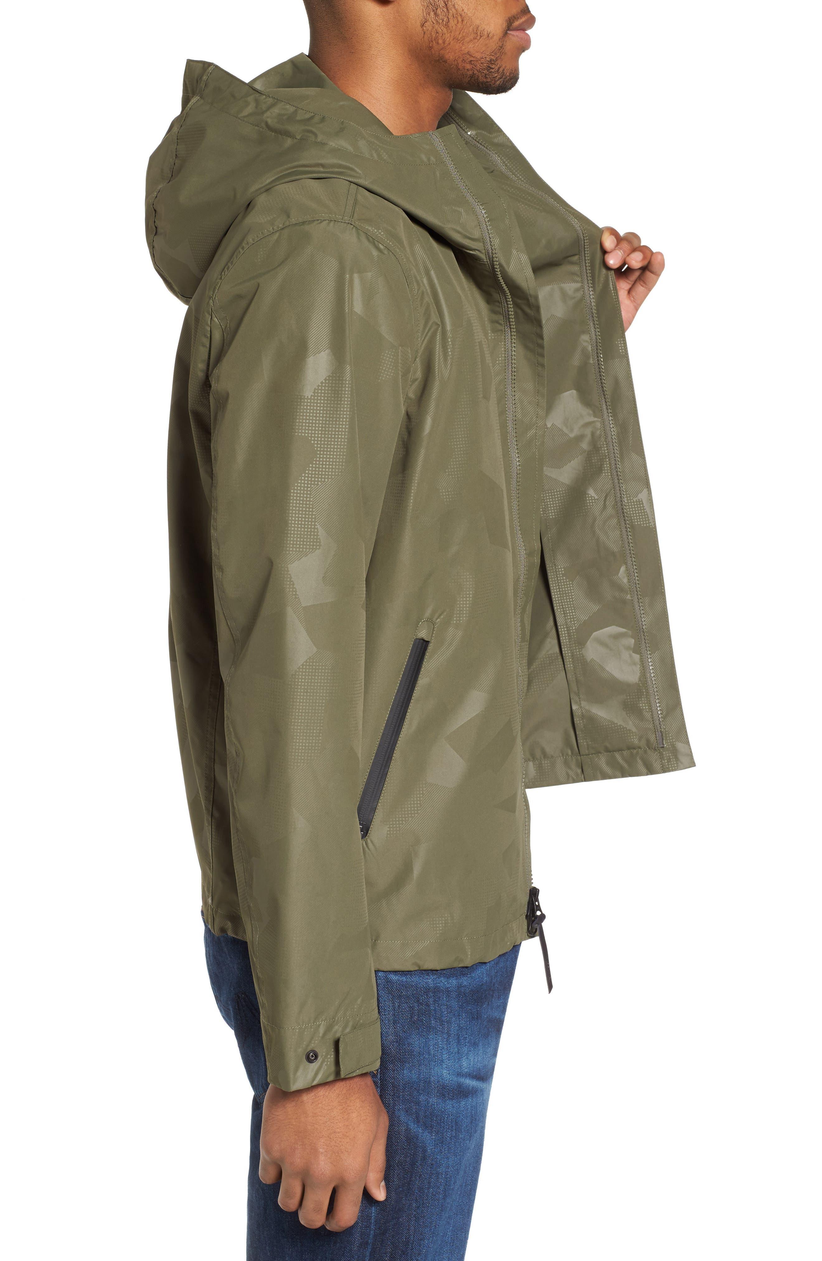 John Rich & Bros. Atlantic Camo Hooded Jacket,                             Alternate thumbnail 3, color,                             378