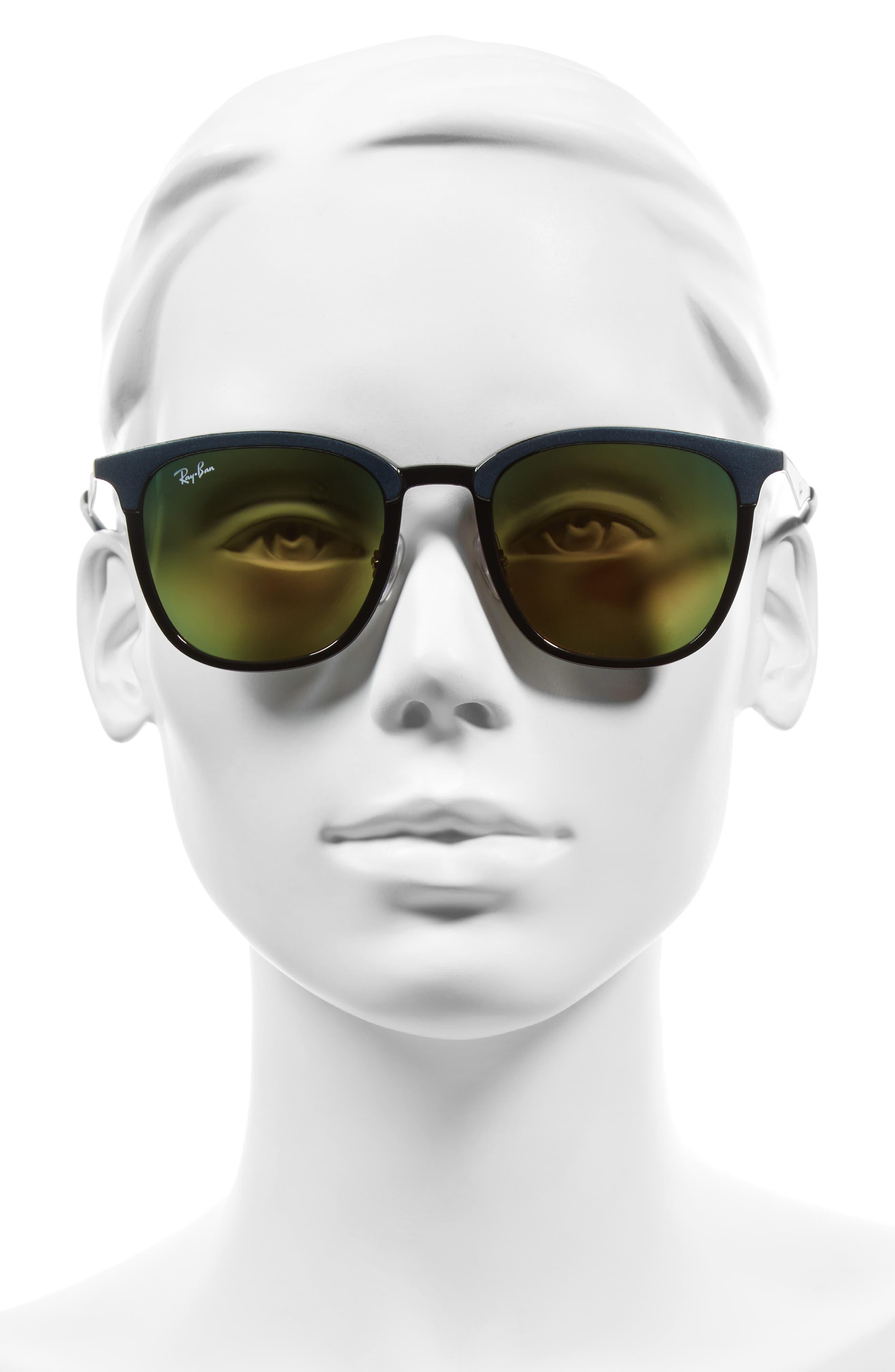 51mm Sunglasses,                             Alternate thumbnail 3, color,                             001