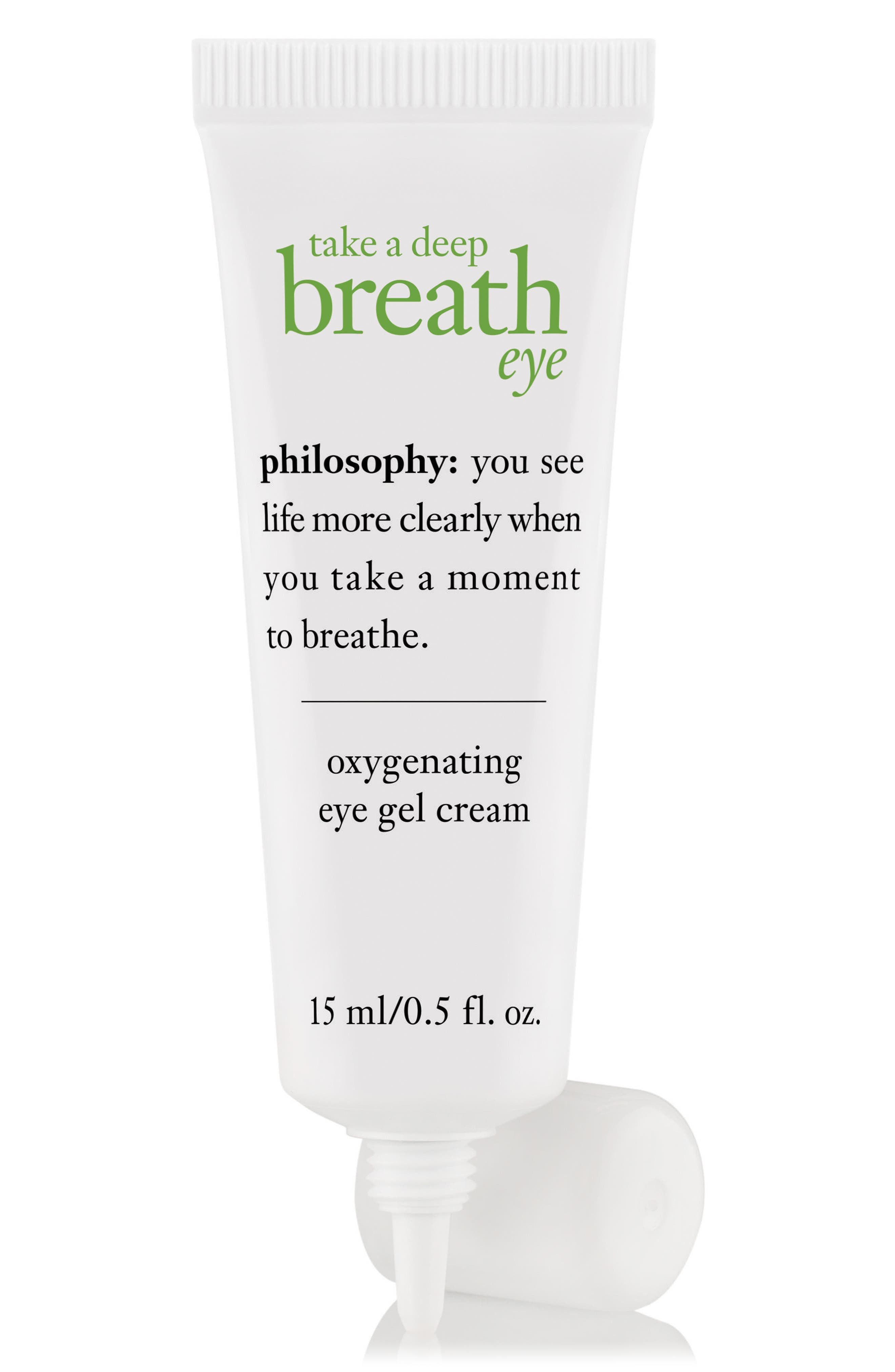 'take a deep breath' oxygenating eye gel cream,                             Alternate thumbnail 2, color,                             NO COLOR