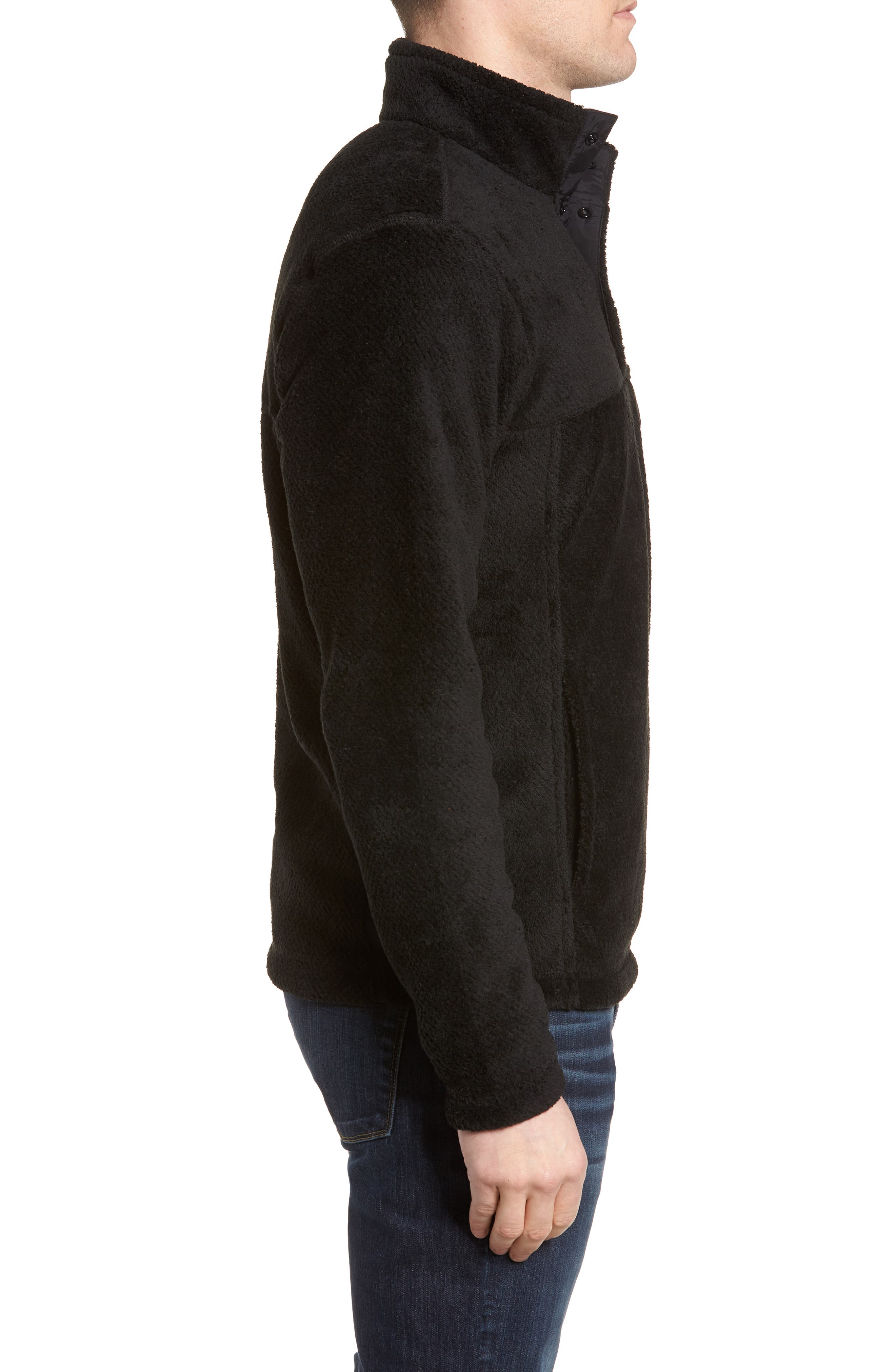 Re-Tool Snap-T<sup>®</sup> Pullover,                             Alternate thumbnail 3, color,                             BLACK