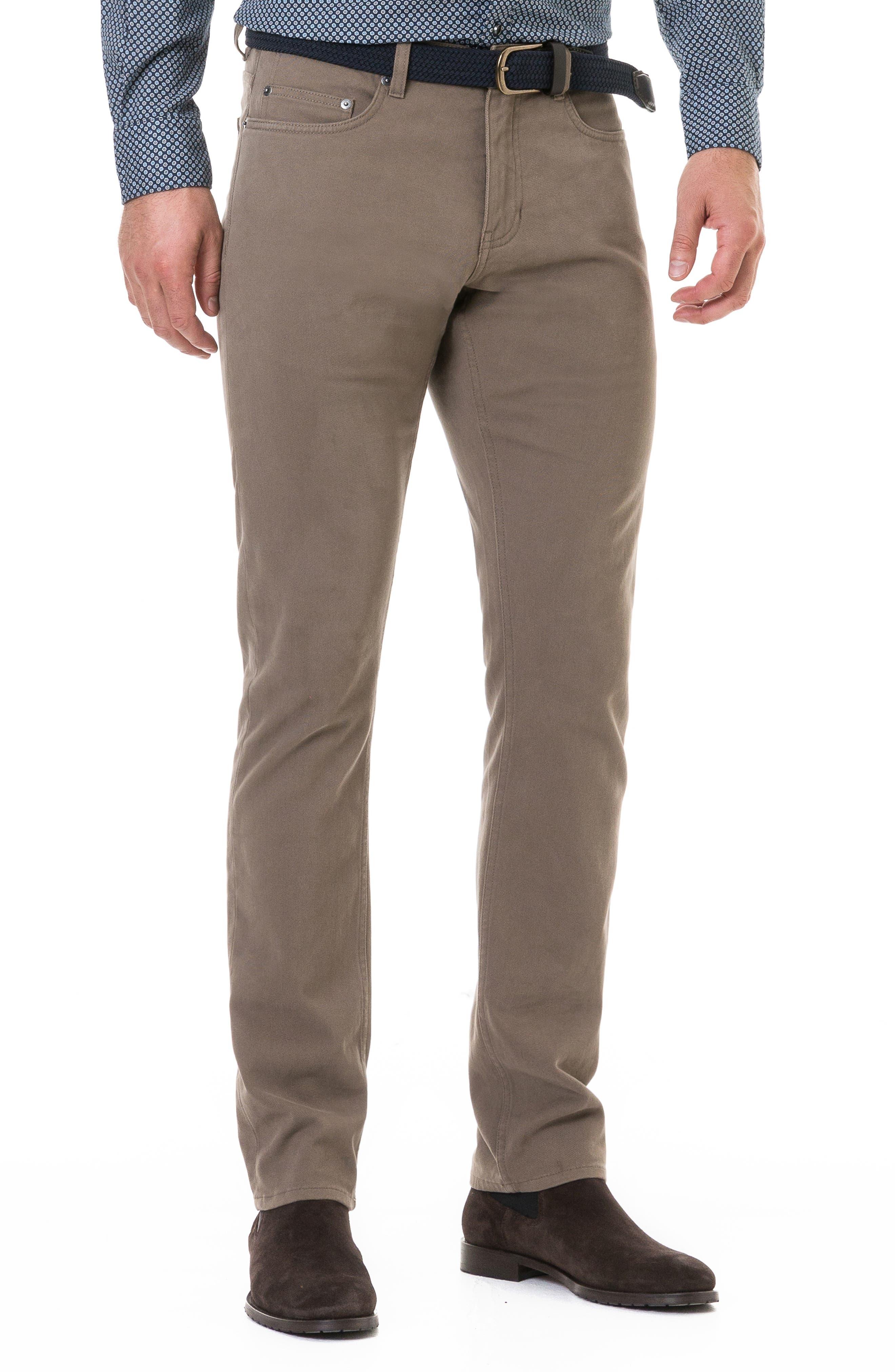 Hawdon Straight Leg Jeans,                         Main,                         color, CLAY
