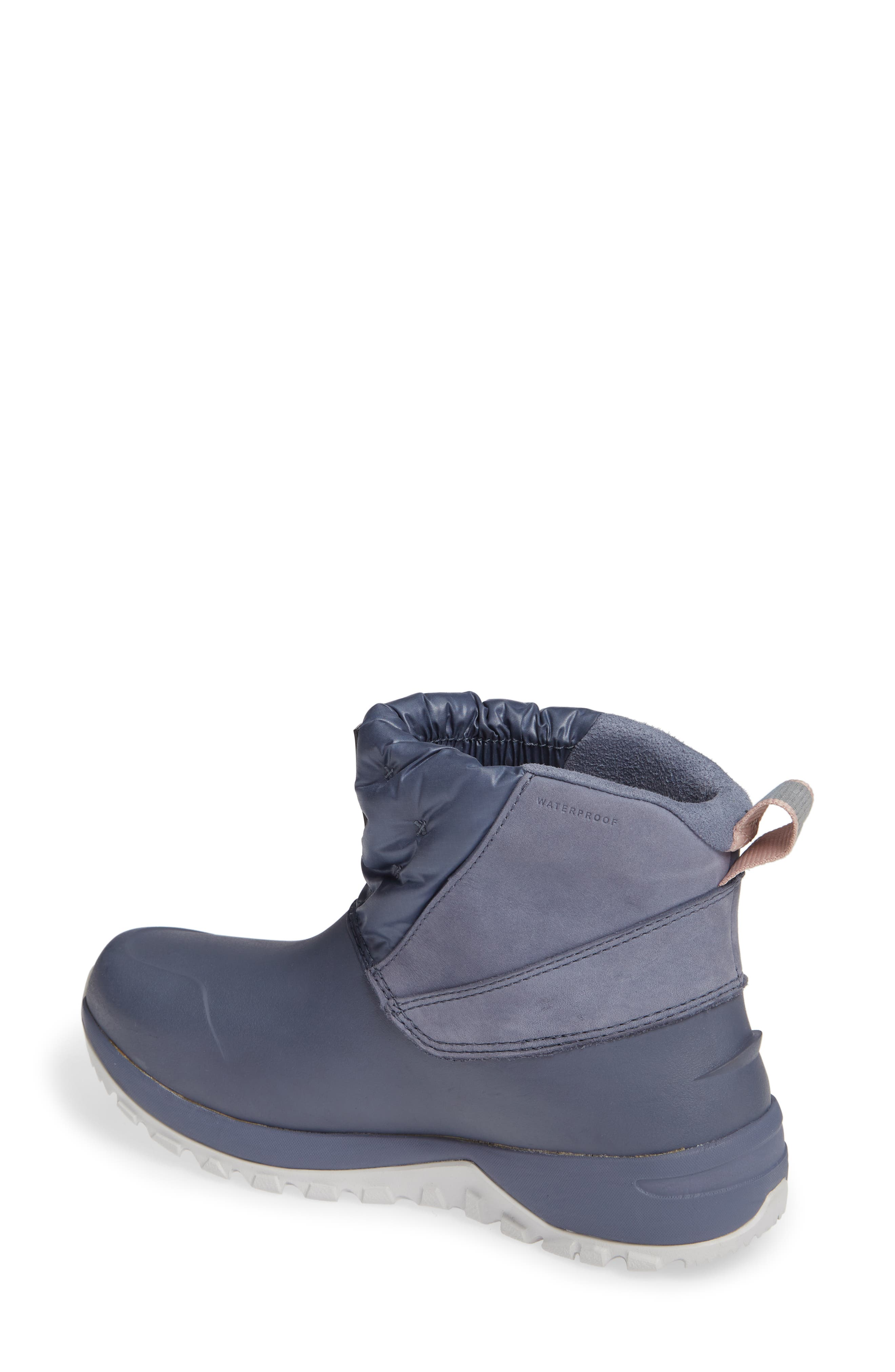 Yukiona Waterproof Ankle Boot,                             Alternate thumbnail 2, color,                             GRISAILLE GREY/ TIN GREY